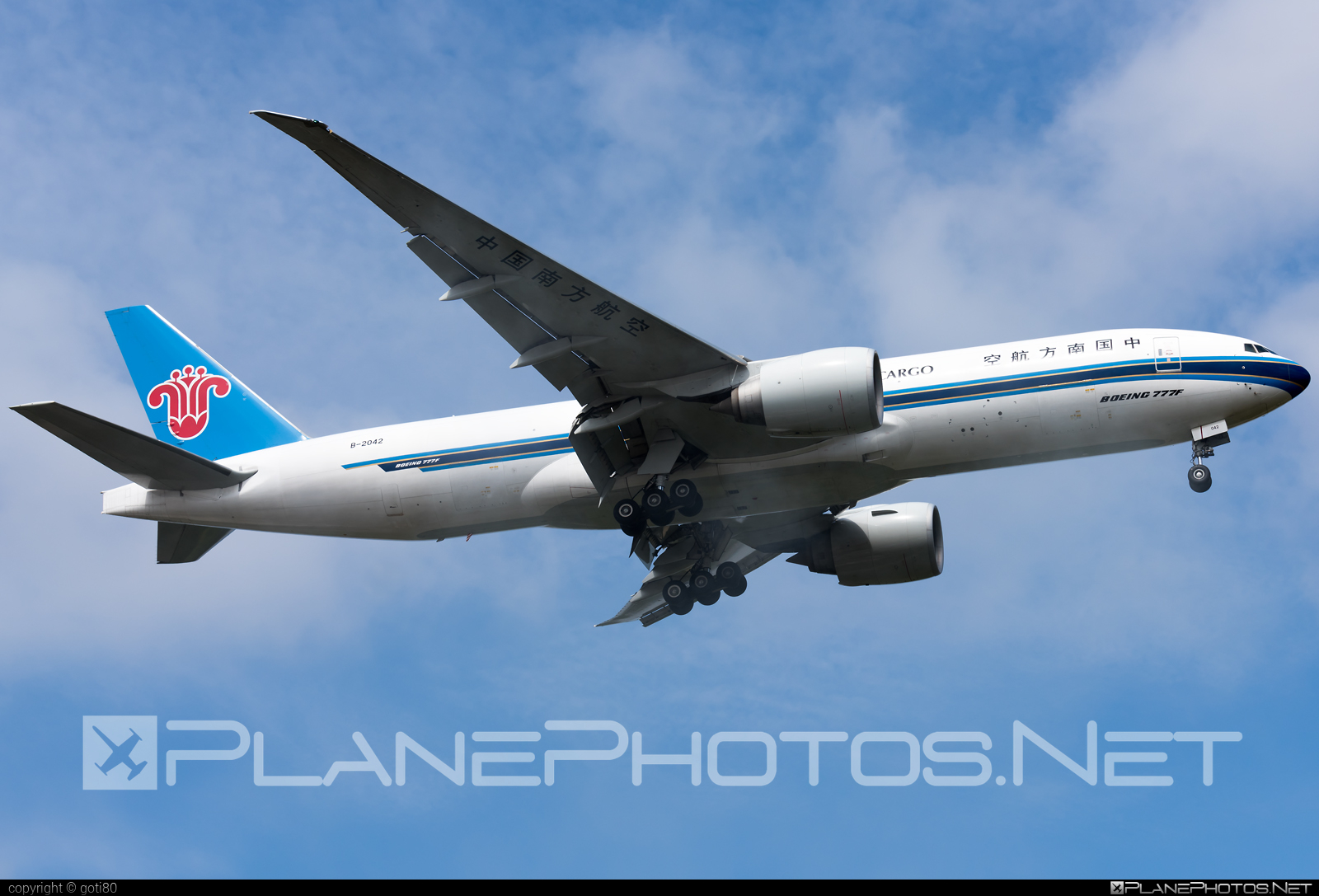 Boeing 777F - B-2042 operated by China Southern Cargo #b777 #b777f #b777freighter #boeing #boeing777 #tripleseven