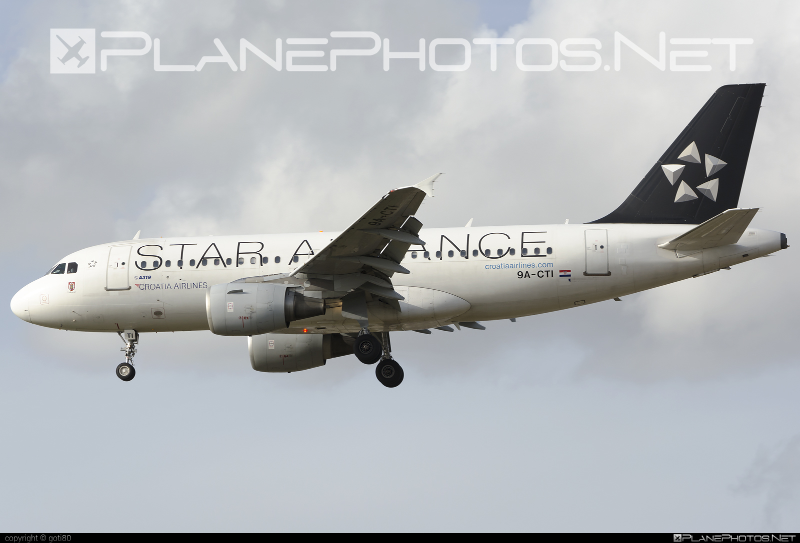 Airbus A319-112 - 9A-CTI operated by Croatia Airlines #a319 #a320family #airbus #airbus319 #staralliance