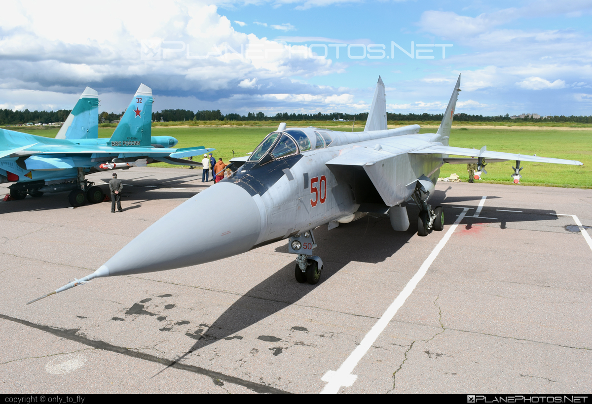 Mikoyan-Gurevich MiG-31BS - RF-92382 operated by Voyenno-vozdushnye sily Rossii (Russian Air Force) #mig #mikoyangurevich