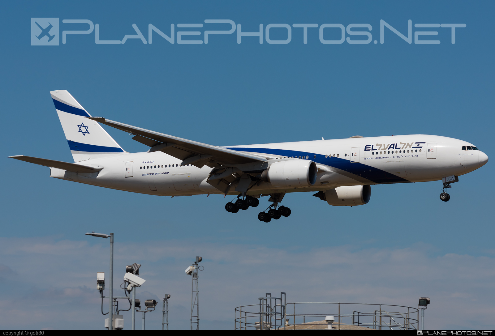 Boeing 777-200ER - 4X-ECA operated by El Al Israel Airlines #b777 #b777er #boeing #boeing777 #elal #elalisraelairlines #israelairlines #tripleseven