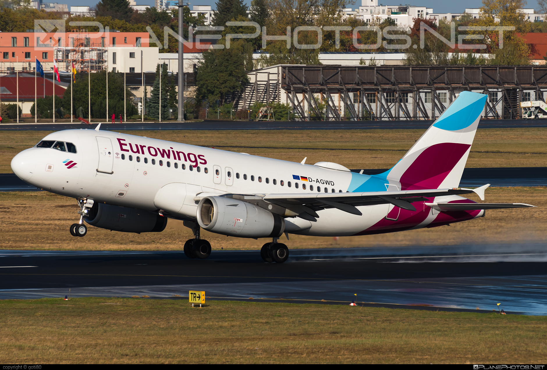 Airbus A319-132 - D-AGWD operated by Eurowings #a319 #a320family #airbus #airbus319 #eurowings