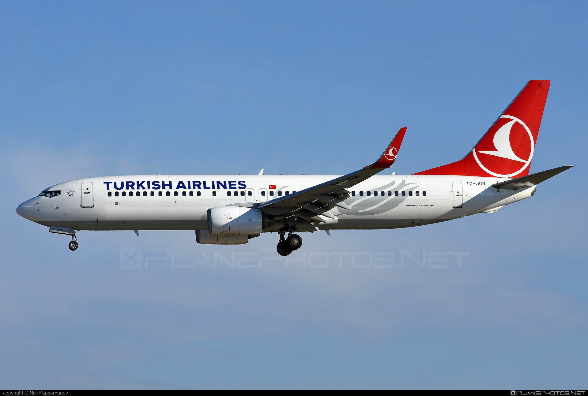 Boeing 737-800 - TC-JGR operated by Turkish Airlines #b737 #b737nextgen #b737ng #boeing #boeing737 #turkishairlines