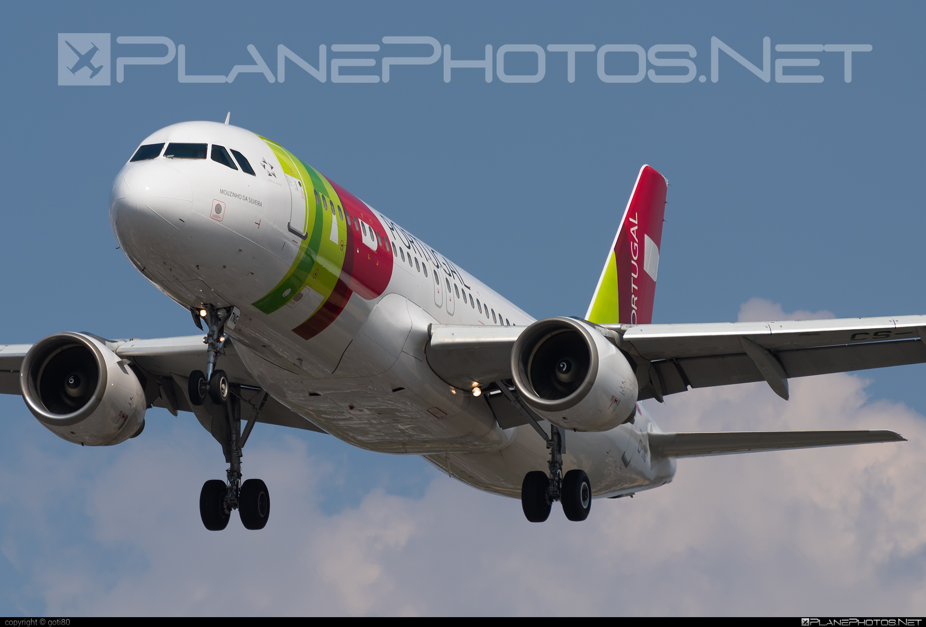 Airbus A320-214 - CS-TNG operated by TAP Portugal #a320 #a320family #airbus #airbus320