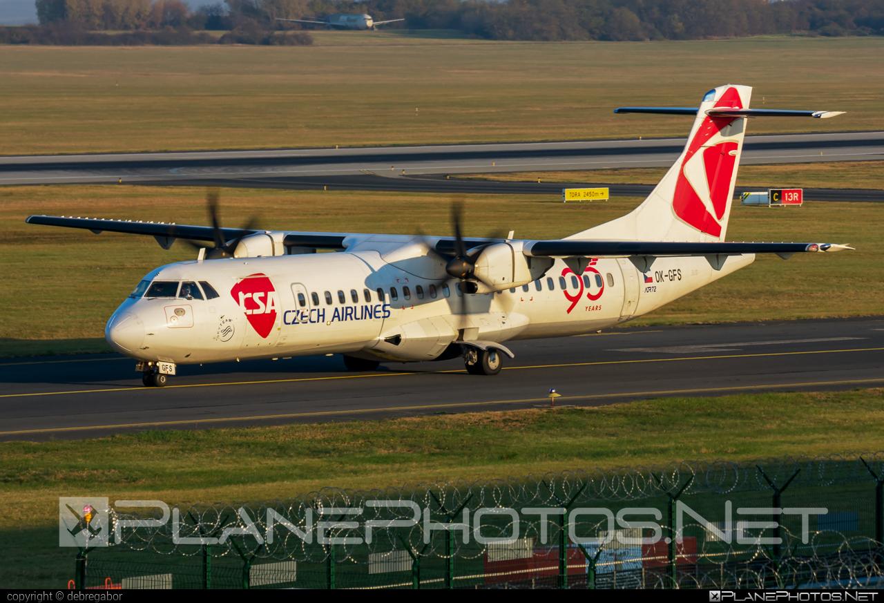 ATR 72-212A - OK-GFS operated by CSA Czech Airlines #atr #csa #czechairlines