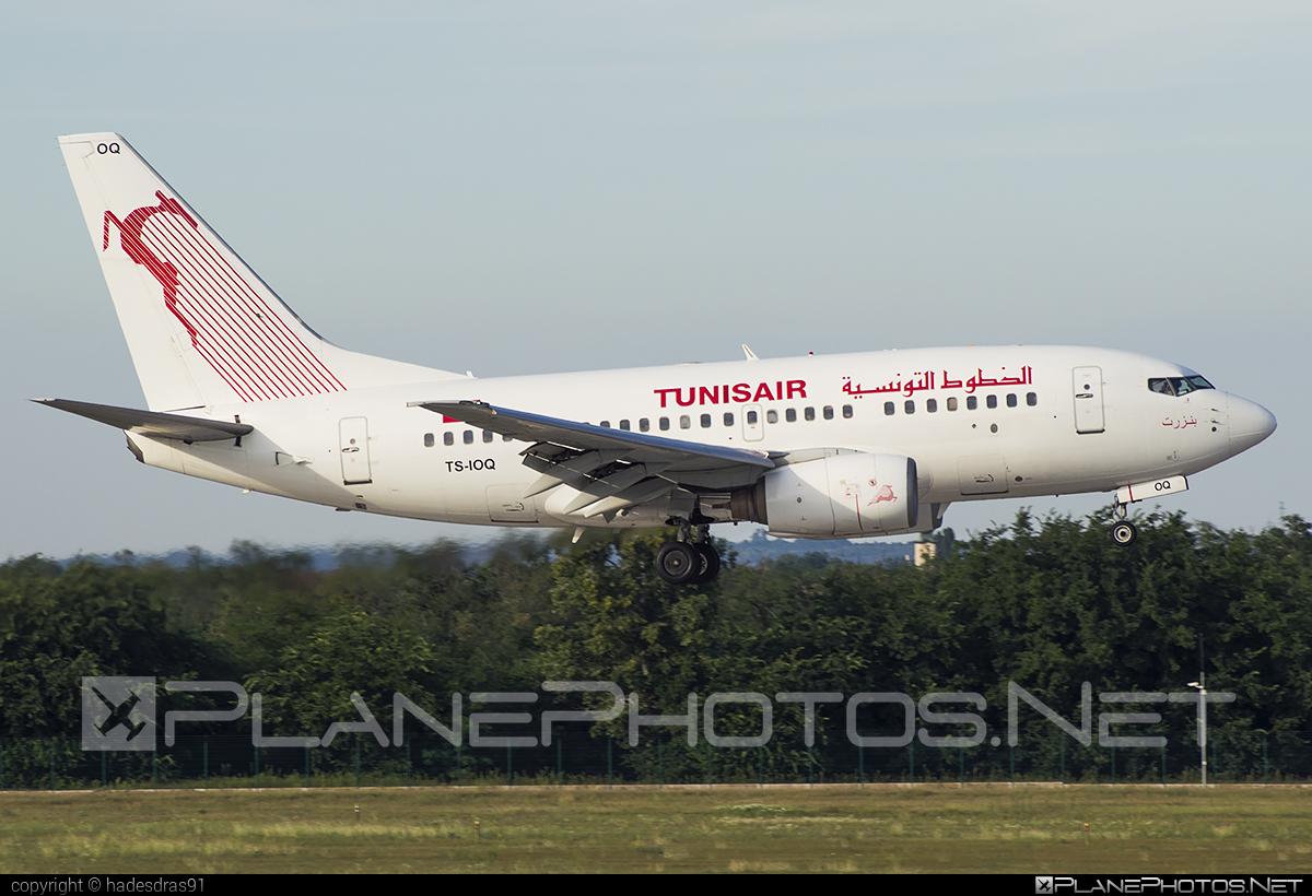 Tunisair Boeing 737-600 - TS-IOQ #b737 #b737nextgen #b737ng #boeing #boeing737 #tunisair