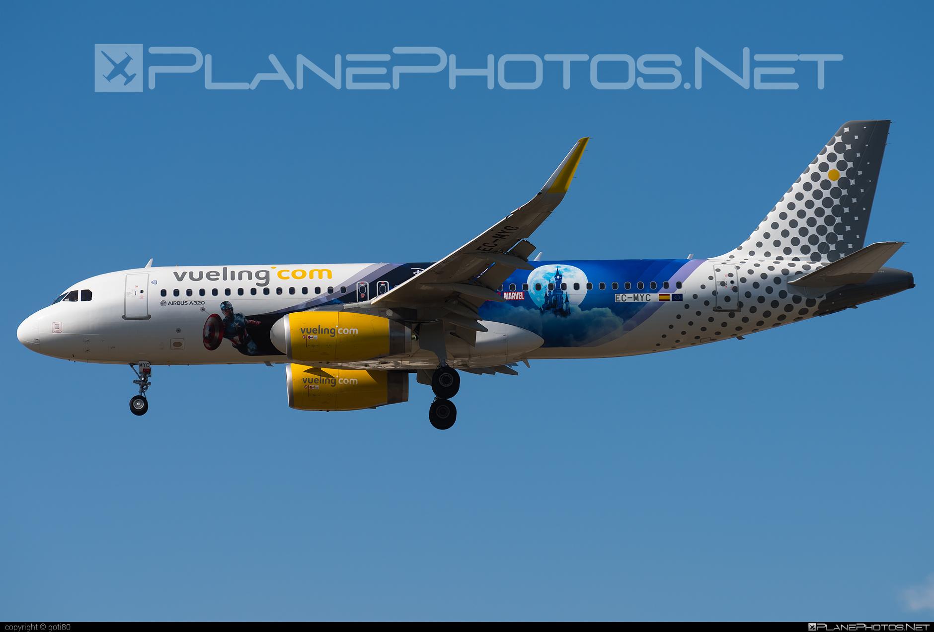 Airbus A320-232 - EC-MYC operated by Vueling Airlines #a320 #a320family #airbus #airbus320 #vueling #vuelingairlines