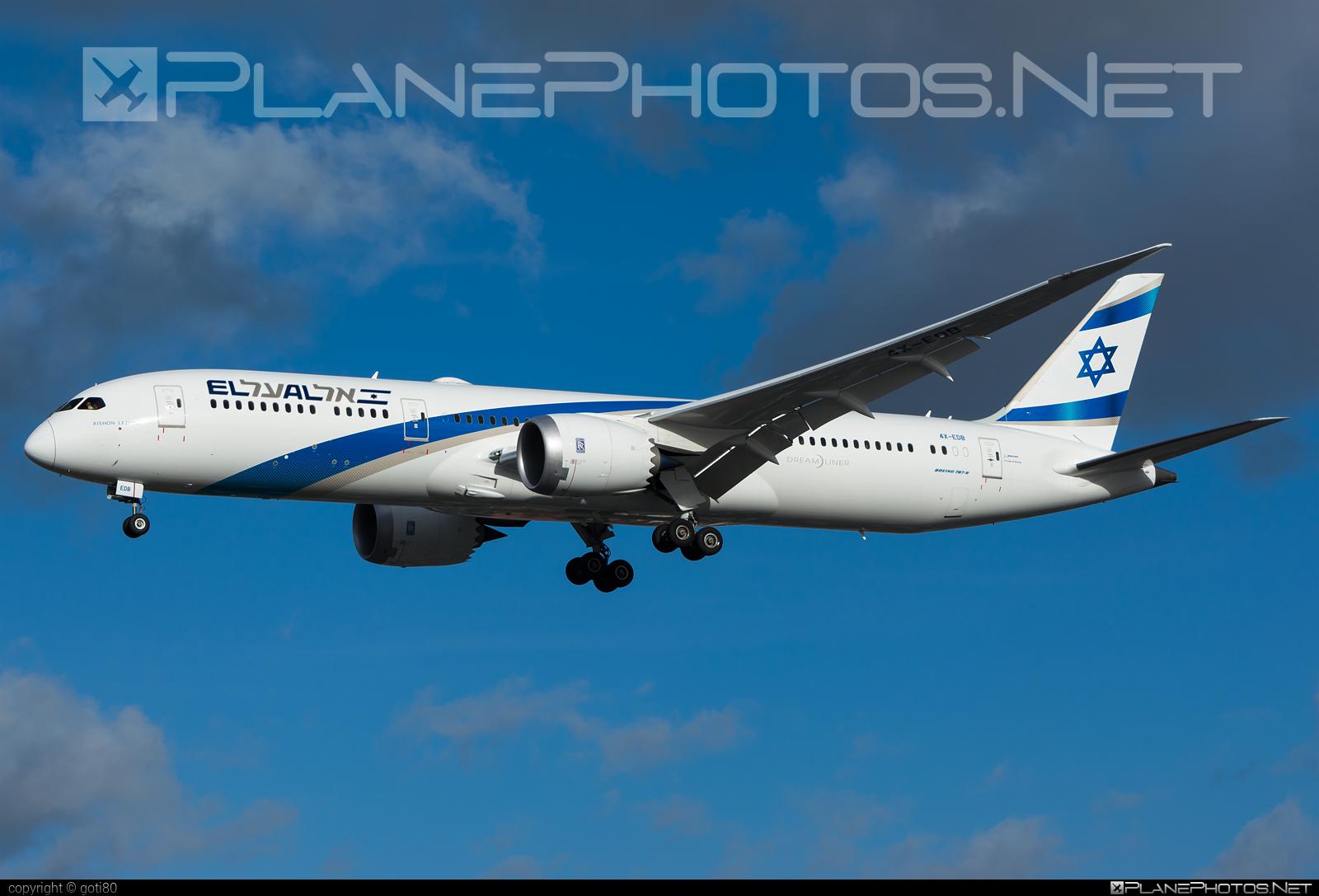 Boeing 787-9 Dreamliner - 4X-EDB operated by El Al Israel Airlines #b787 #boeing #boeing787 #dreamliner #elal #elalisraelairlines #israelairlines