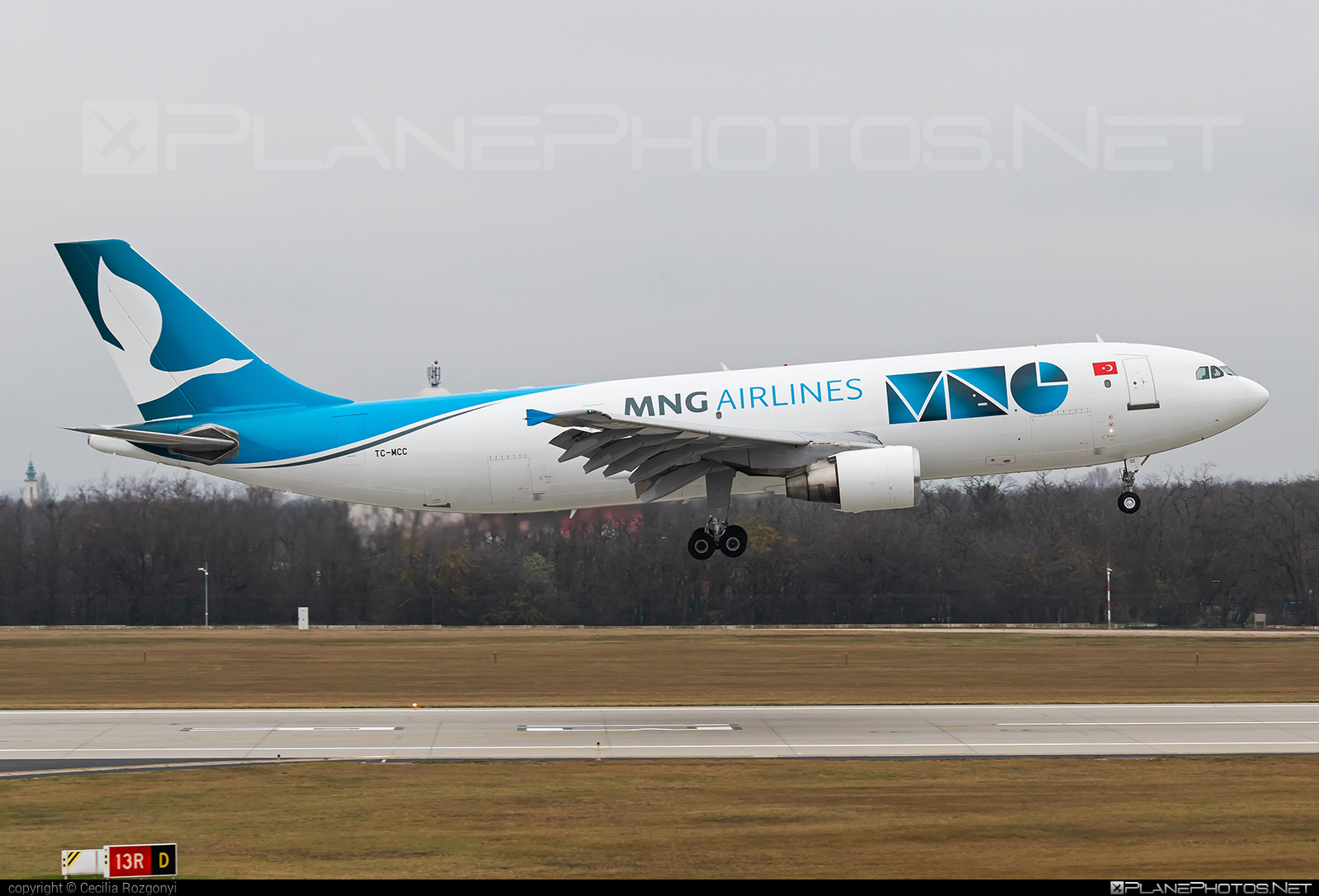 Airbus A300B4-622RF - TC-MCC operated by MNG Airlines #a300 #airbus