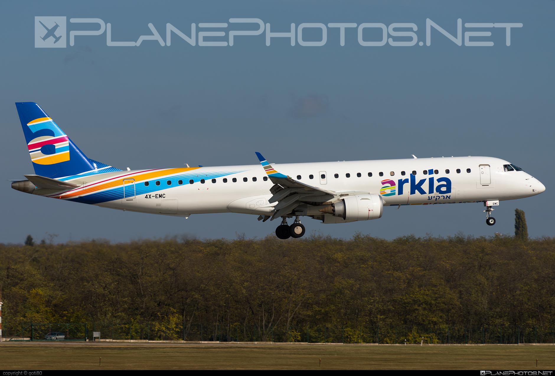 Embraer E195IGW (ERJ-190-200IGW) - 4X-EMC operated by Arkia Israeli Airlines #e190 #e190200 #e190200igw #e195igw #embraer #embraer190200igw #embraer195 #embraer195igw