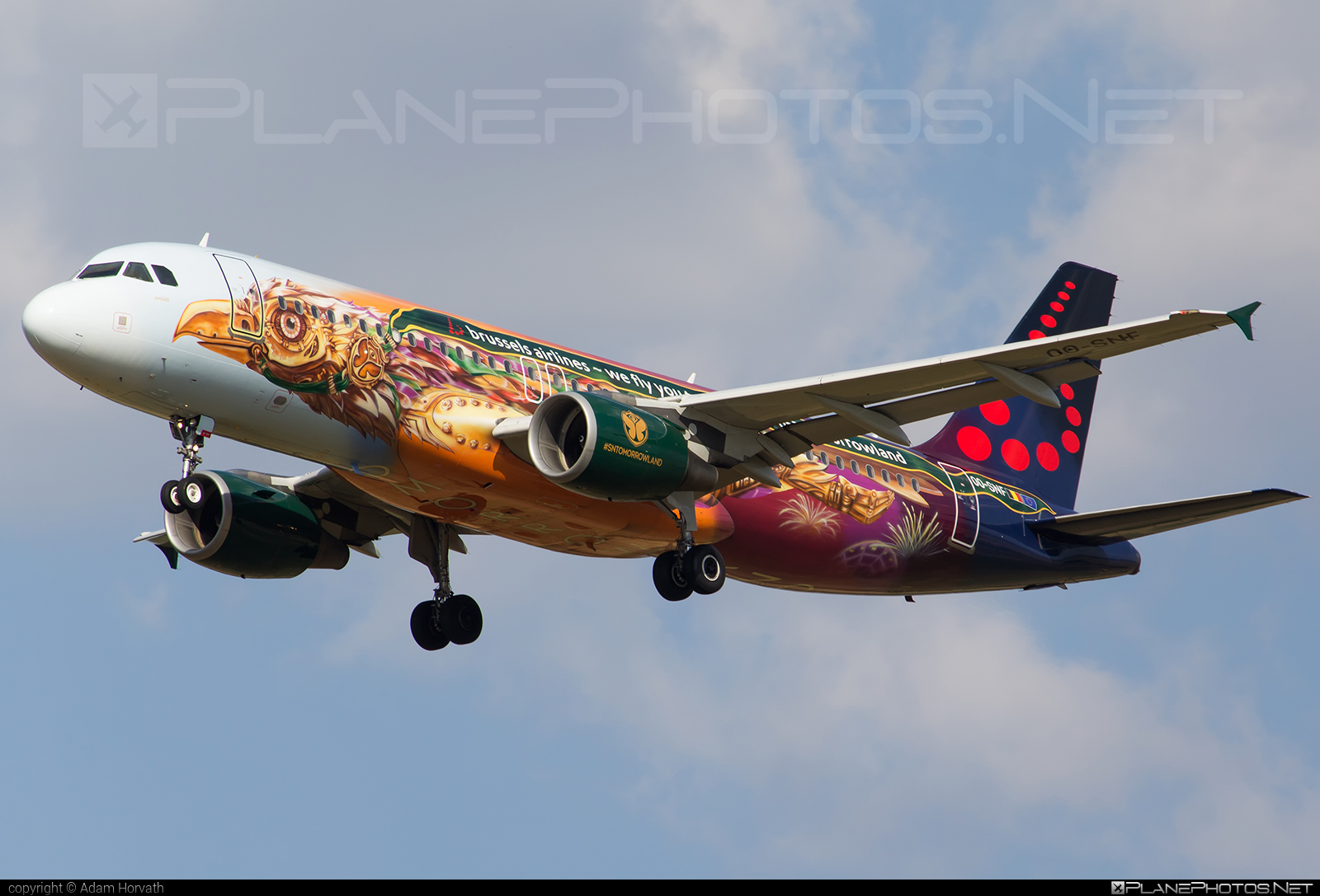 Airbus A320-214 - OO-SNF operated by Brussels Airlines #a320 #a320family #airbus #airbus320 #brusselsairlines