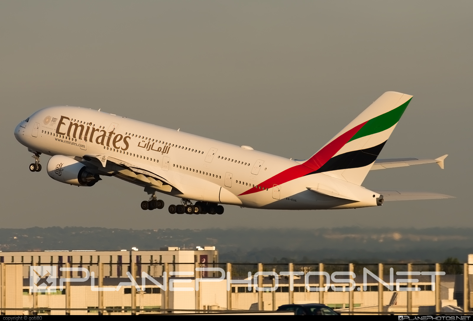 Airbus A380-861 - A6-EUE operated by Emirates #a380 #a380family #airbus #airbus380 #emirates
