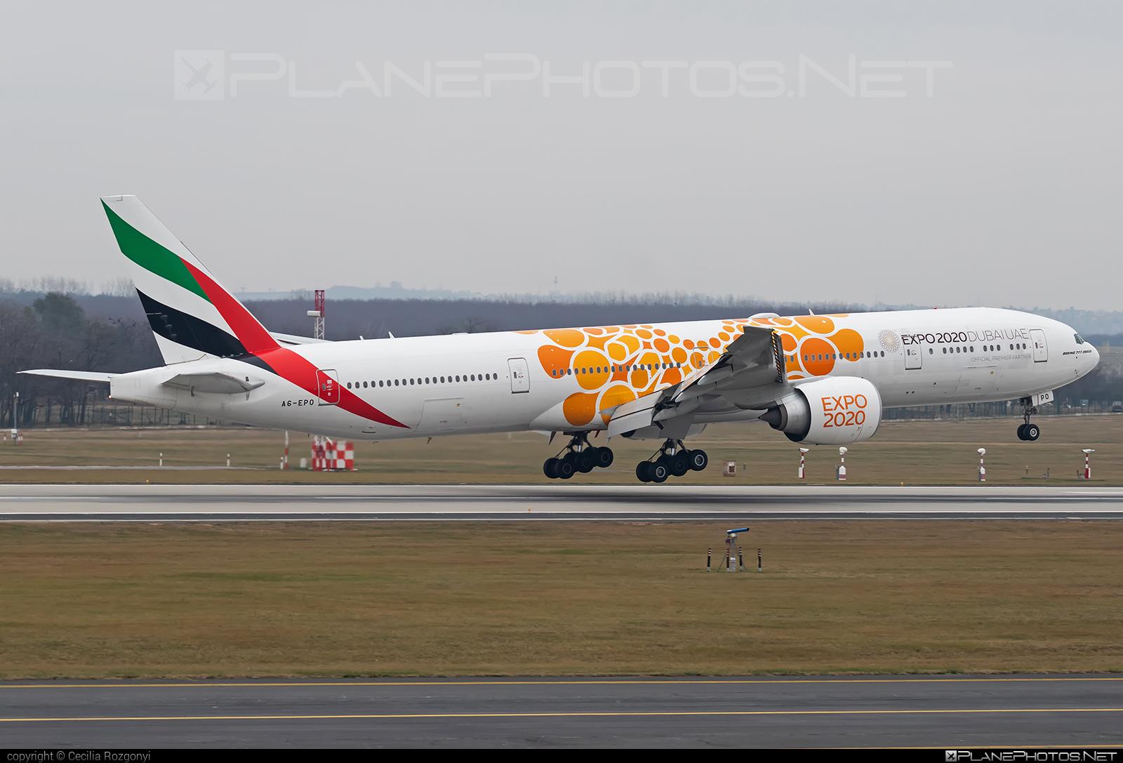 Emirates Boeing 777-300ER - A6-EPO #b777 #b777er #boeing #boeing777 #emirates #tripleseven