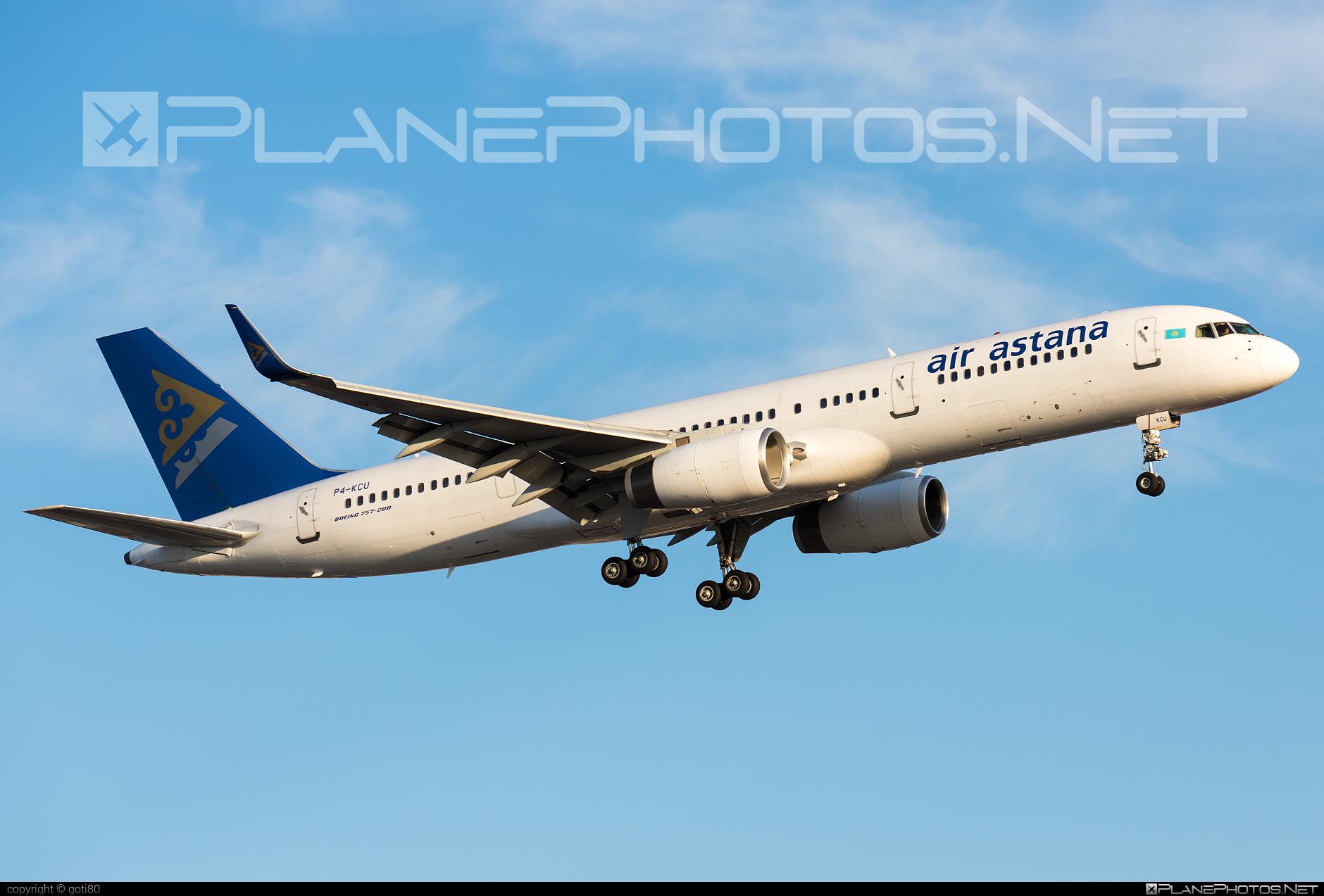Boeing 757-200WL - P4-KCU operated by Air Astana #b757 #boeing #boeing757