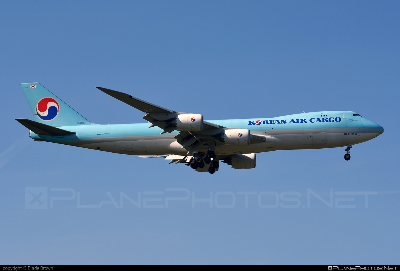 Korean Air Cargo Boeing 747-8F - HL7624 #b747 #b747f #b747freighter #boeing #boeing747 #jumbo #koreanair #koreanaircargo