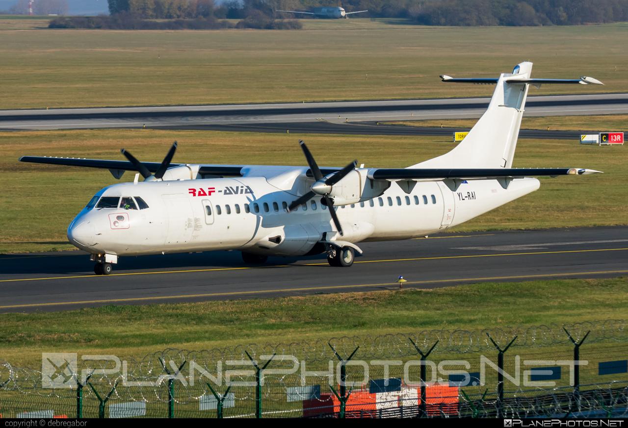 ATR 72-202(F) - YL-RAI operated by Raf-Avia Airlines #atr