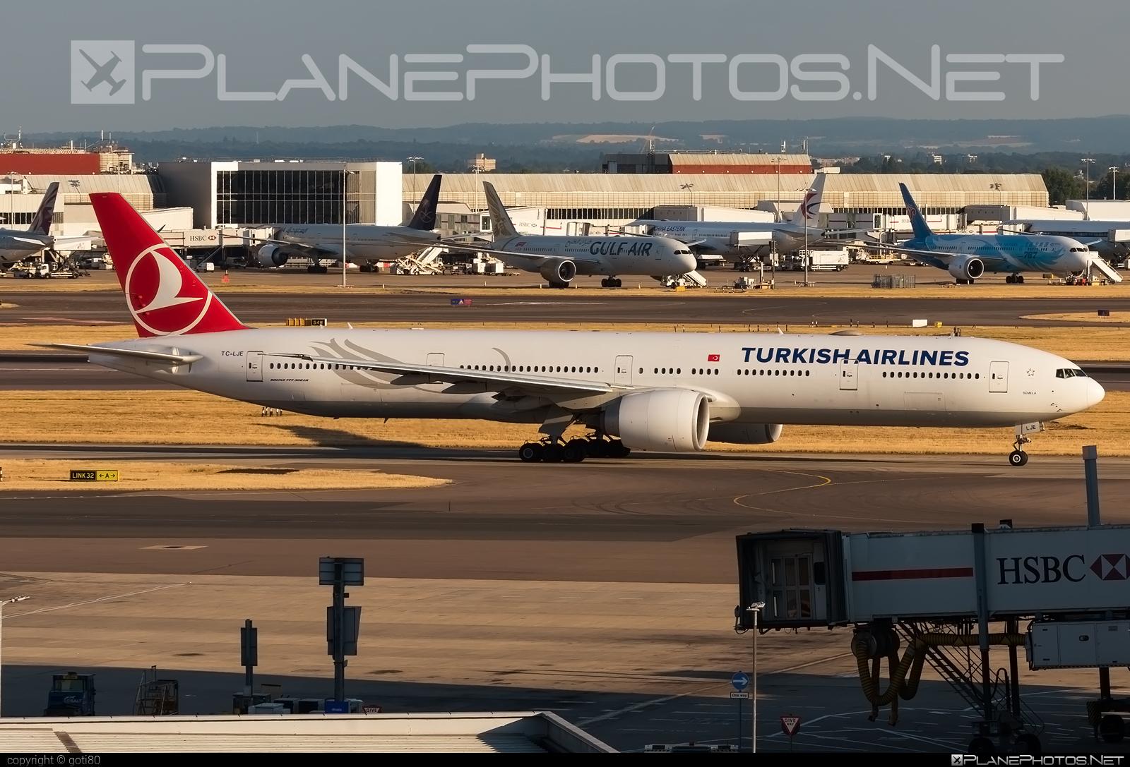 Turkish Airlines Boeing 777-300ER - TC-LJE #b777 #b777er #boeing #boeing777 #tripleseven #turkishairlines