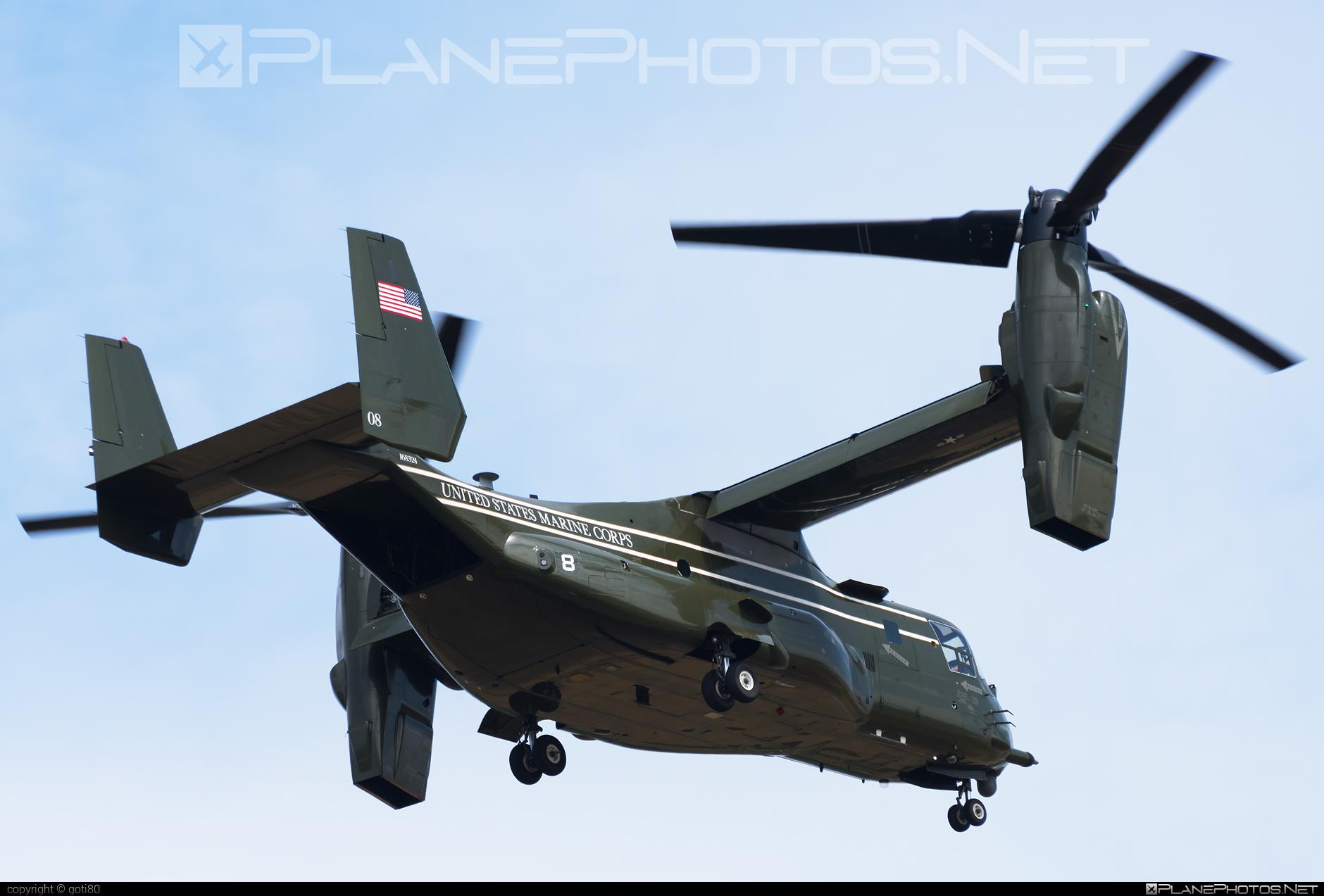 Bell Boeing MV-22B Osprey - 168324 operated by US Marine Corps (USMC) #bellboeing