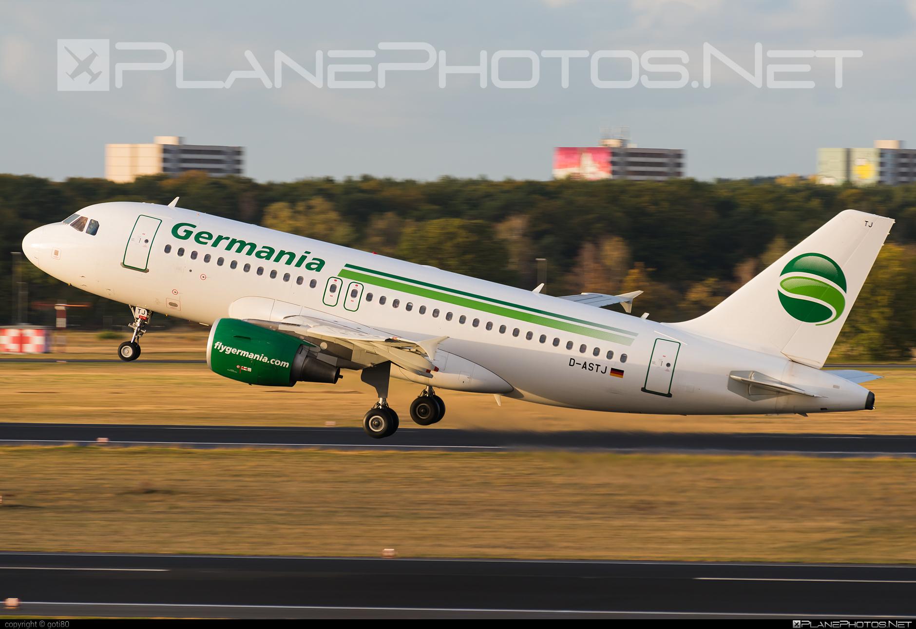 Germania Airbus A319-111 - D-ASTJ #a319 #a320family #airbus #airbus319