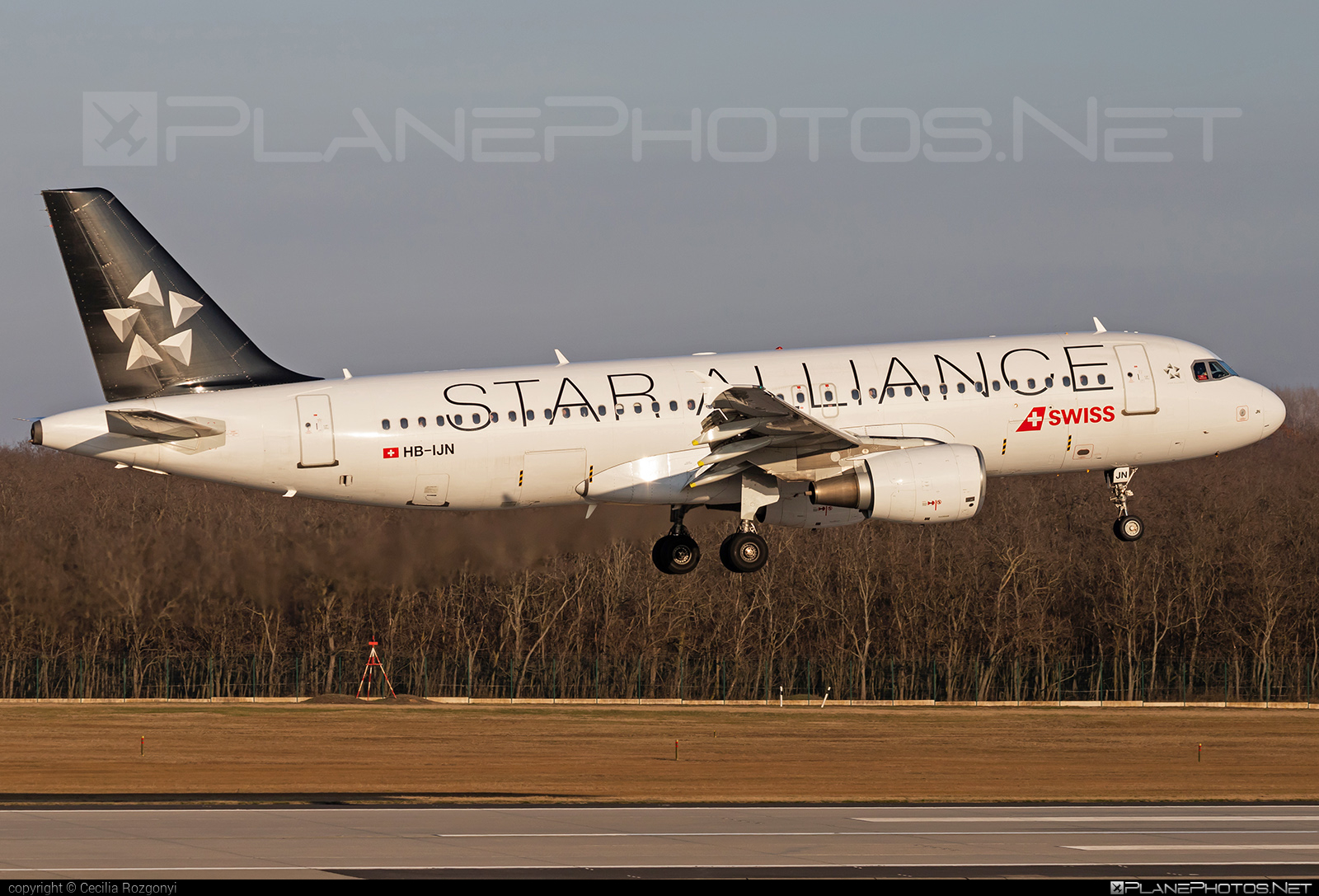 Airbus A320-214 - HB-IJN operated by Swiss International Air Lines #a320 #a320family #airbus #airbus320 #staralliance #swiss #swissairlines