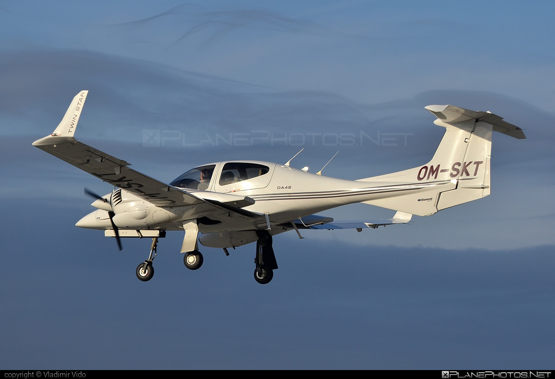 Diamond DA42 Twin Star - OM-SKT operated by Seagle Air FTO #diamond