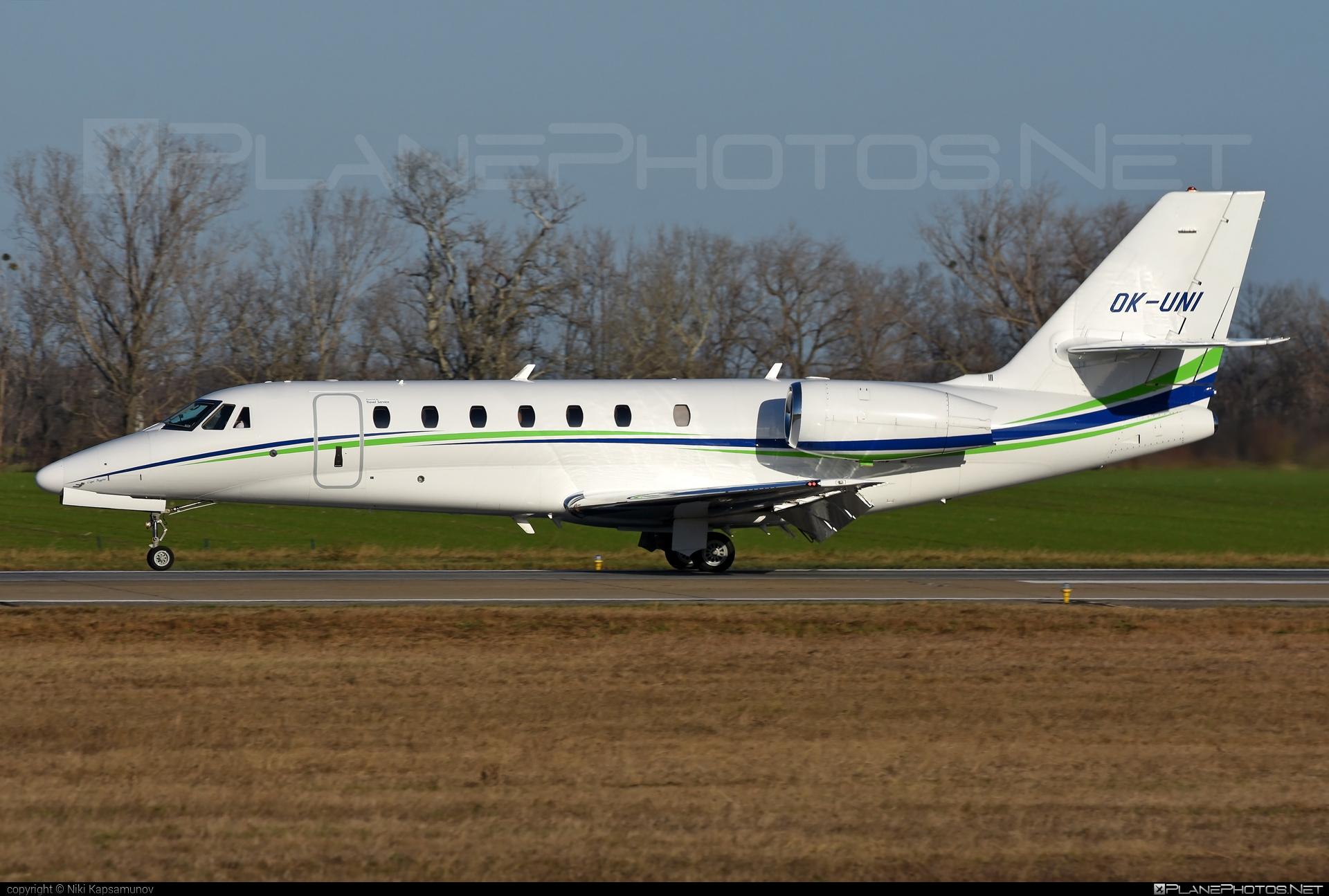 Cessna 680 Citation Sovereign - OK-UNI operated by Travel Service #cessna #cessna680 #cessna680citationsovereign #cessnacitation #cessnacitationsovereign #citationsovereign #travelservice