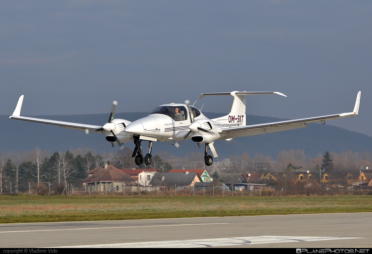 Diamond DA42 Twin Star - OM-SKT operated by Seagle Air FTO #diamond