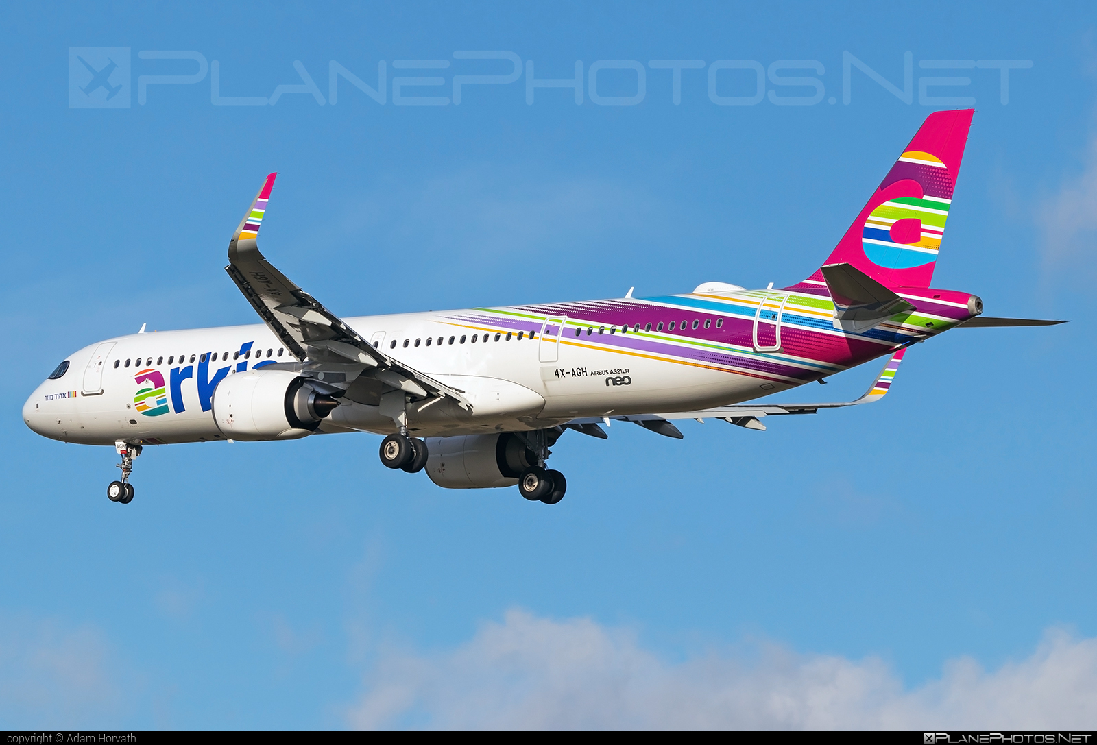Airbus A321-251NX - 4X-AGH operated by Arkia Israeli Airlines #a320family #a321 #a321neo #airbus #airbus321 #airbus321lr