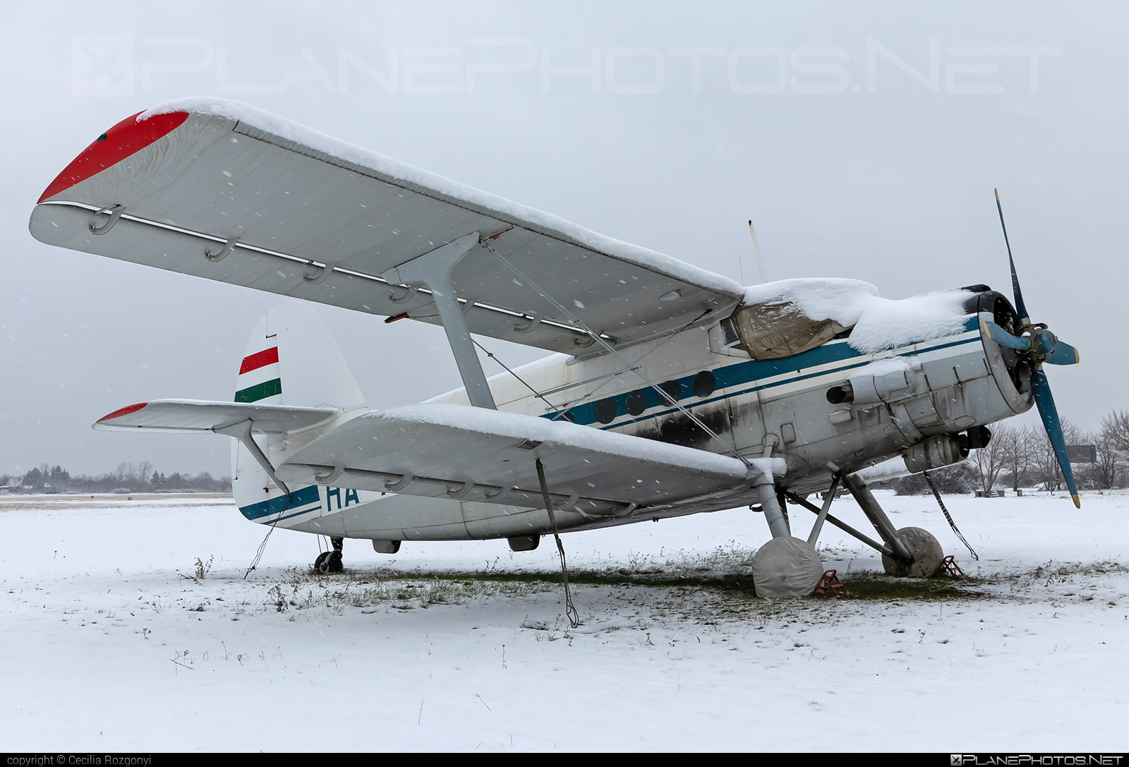 PZL-Mielec An-2P - HA-ANV operated by Private operator #an2 #an2p #antonov2 #pzl #pzlmielec