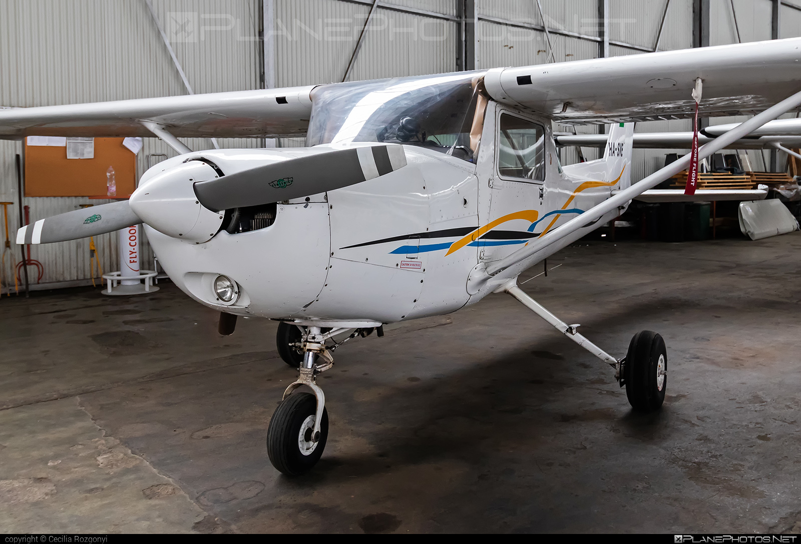 Cessna 152 - HA-SVE operated by Private operator #cessna #cessna152