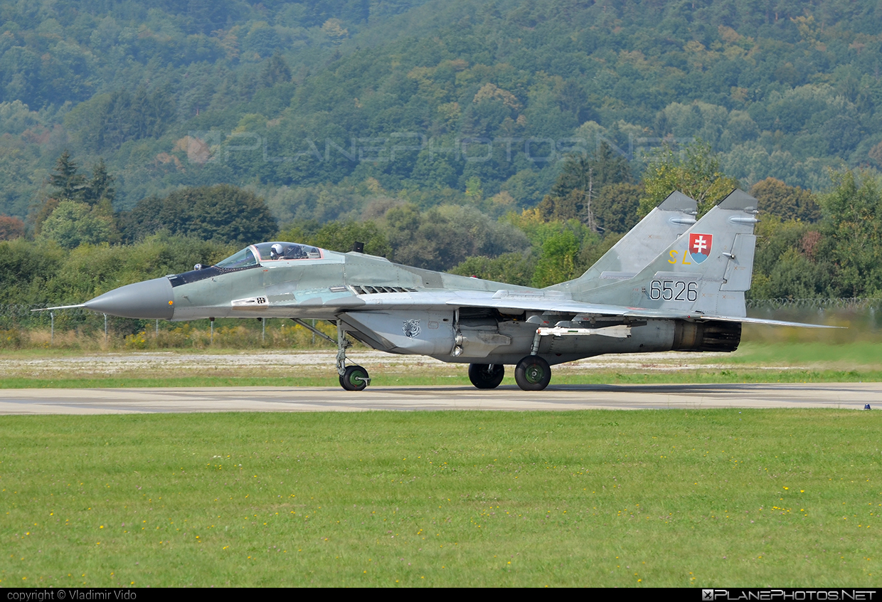 Mikoyan-Gurevich MiG-29AS - 6526 operated by Vzdušné sily OS SR (Slovak Air Force) #mig #mig29 #mig29as #mikoyangurevich #siaf2018 #slovakairforce #vzdusnesilyossr