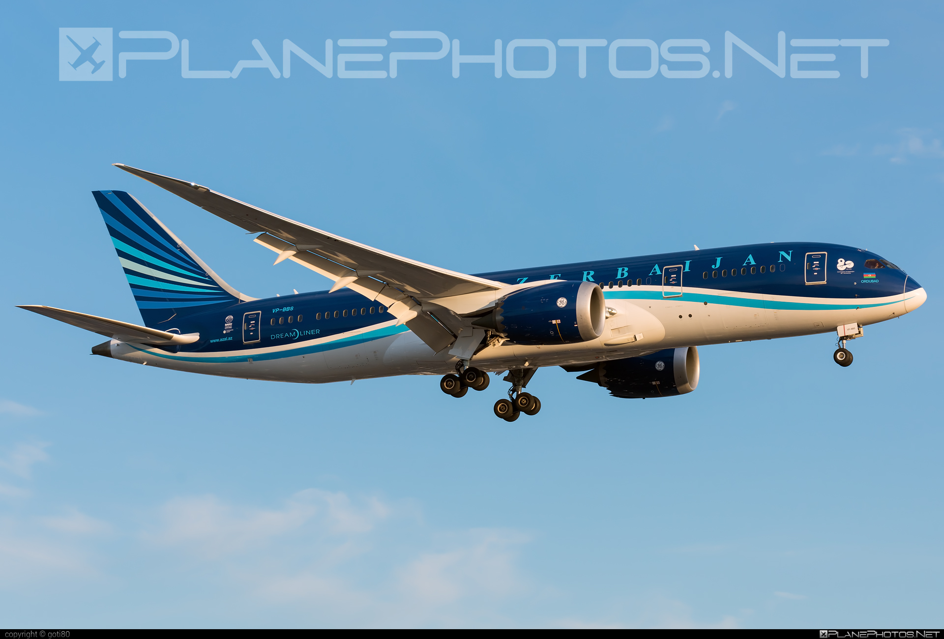 Boeing 787-8 Dreamliner - VP-BBS operated by AZAL Azerbaijan Airlines #b787 #boeing #boeing787 #dreamliner