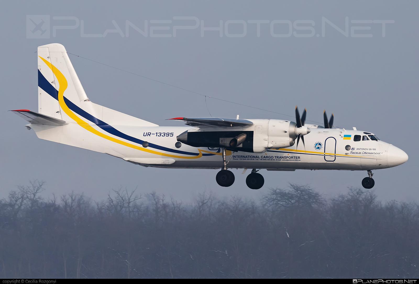Antonov An-26 - UR-13395 operated by Antonov Airlines #an26 #antonov #antonov26