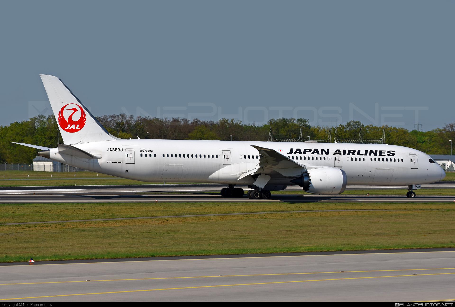 Boeing 787-9 Dreamliner - JA863J operated by Japan Airlines (JAL) #b787 #boeing #boeing787 #dreamliner