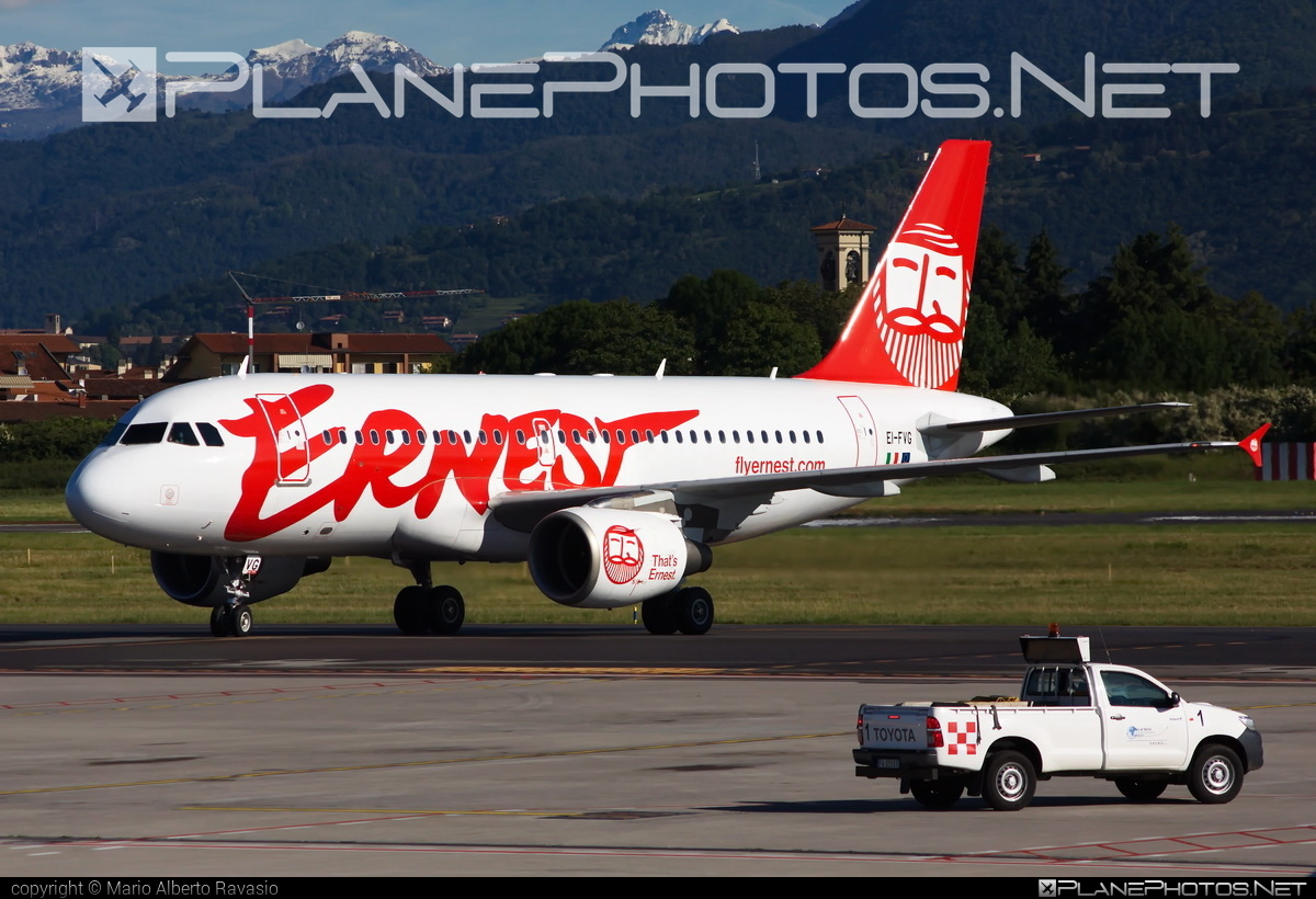 Airbus A319-111 - EI-FVG operated by Ernest Airlines #a319 #a320family #airbus #airbus319 #ernestairlines #flyernest