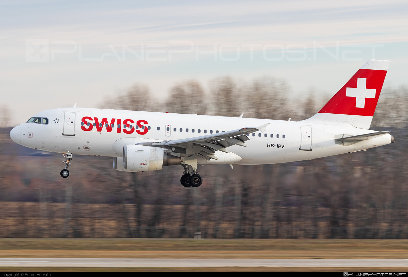 Airbus A319-112 - HB-IPV operated by Swiss International Air Lines #a319 #a320family #airbus #airbus319 #swiss #swissairlines