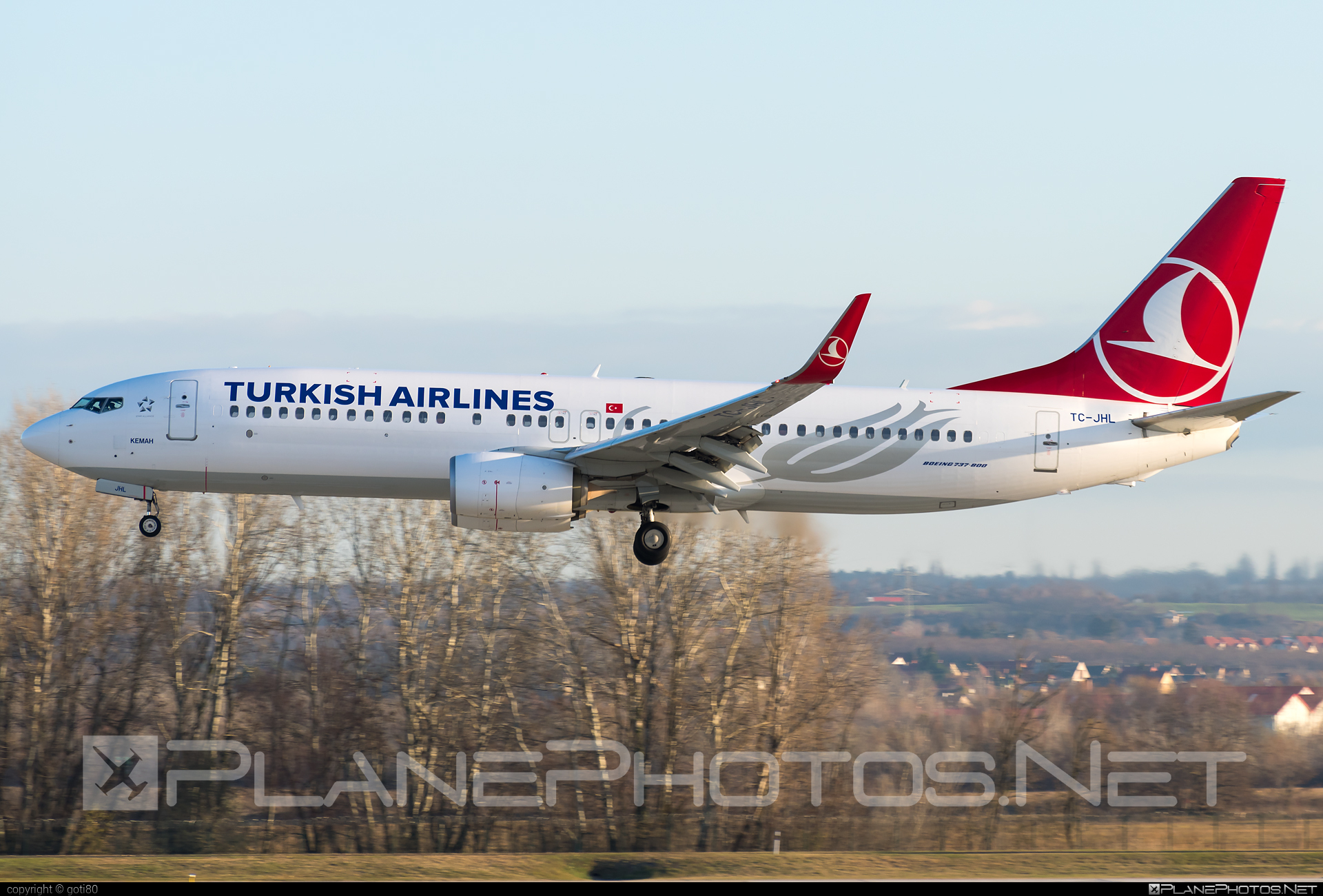 Boeing 737-800 - TC-JHL operated by Turkish Airlines #b737 #b737nextgen #b737ng #boeing #boeing737 #turkishairlines