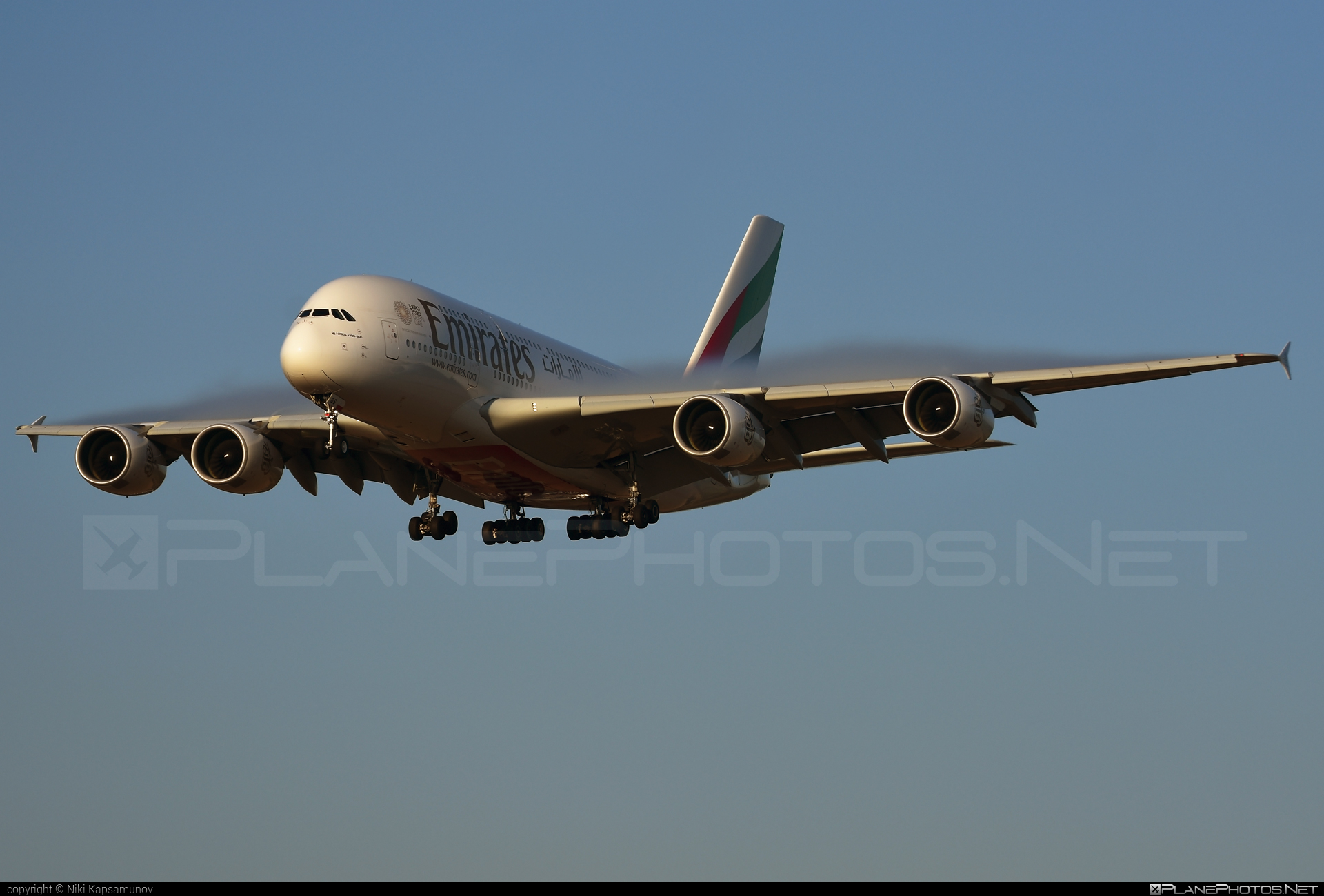 Airbus A380-861 - A6-EOS operated by Emirates #a380 #a380family #airbus #airbus380 #emirates