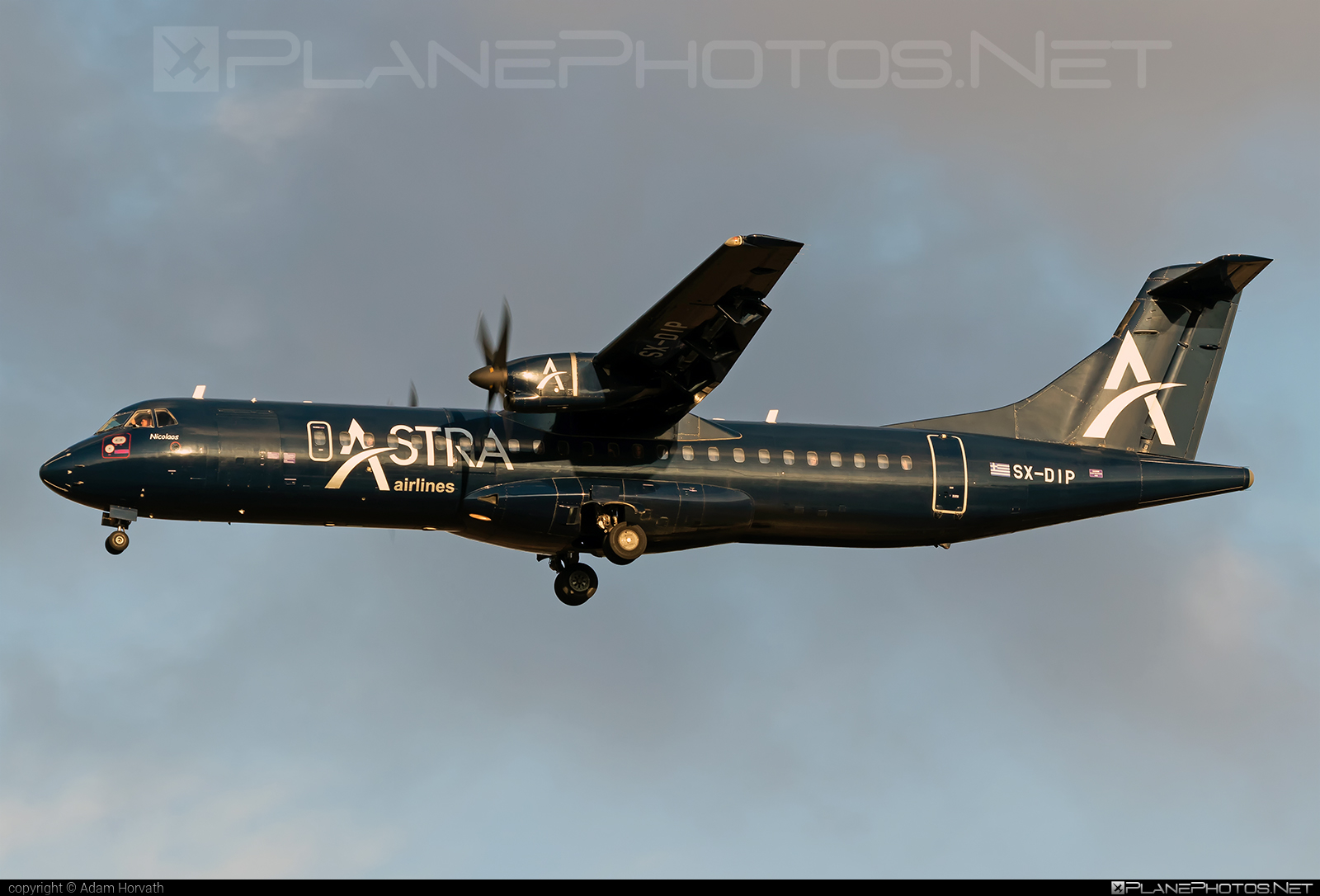 ATR 72-202 - SX-DIP operated by Astra Airlines #atr