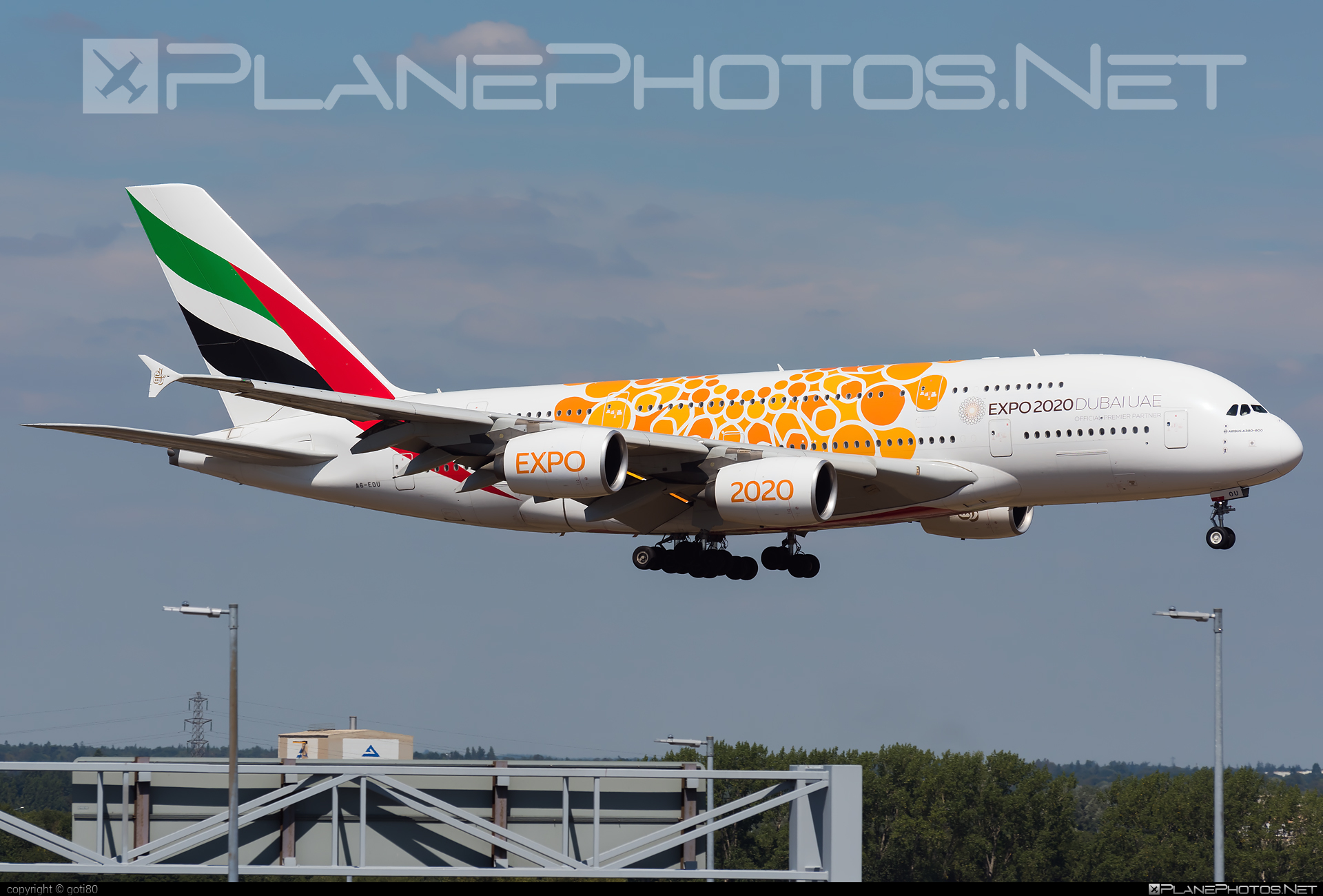 Airbus A380-861 - A6-EOU operated by Emirates #a380 #a380family #airbus #airbus380 #emirates