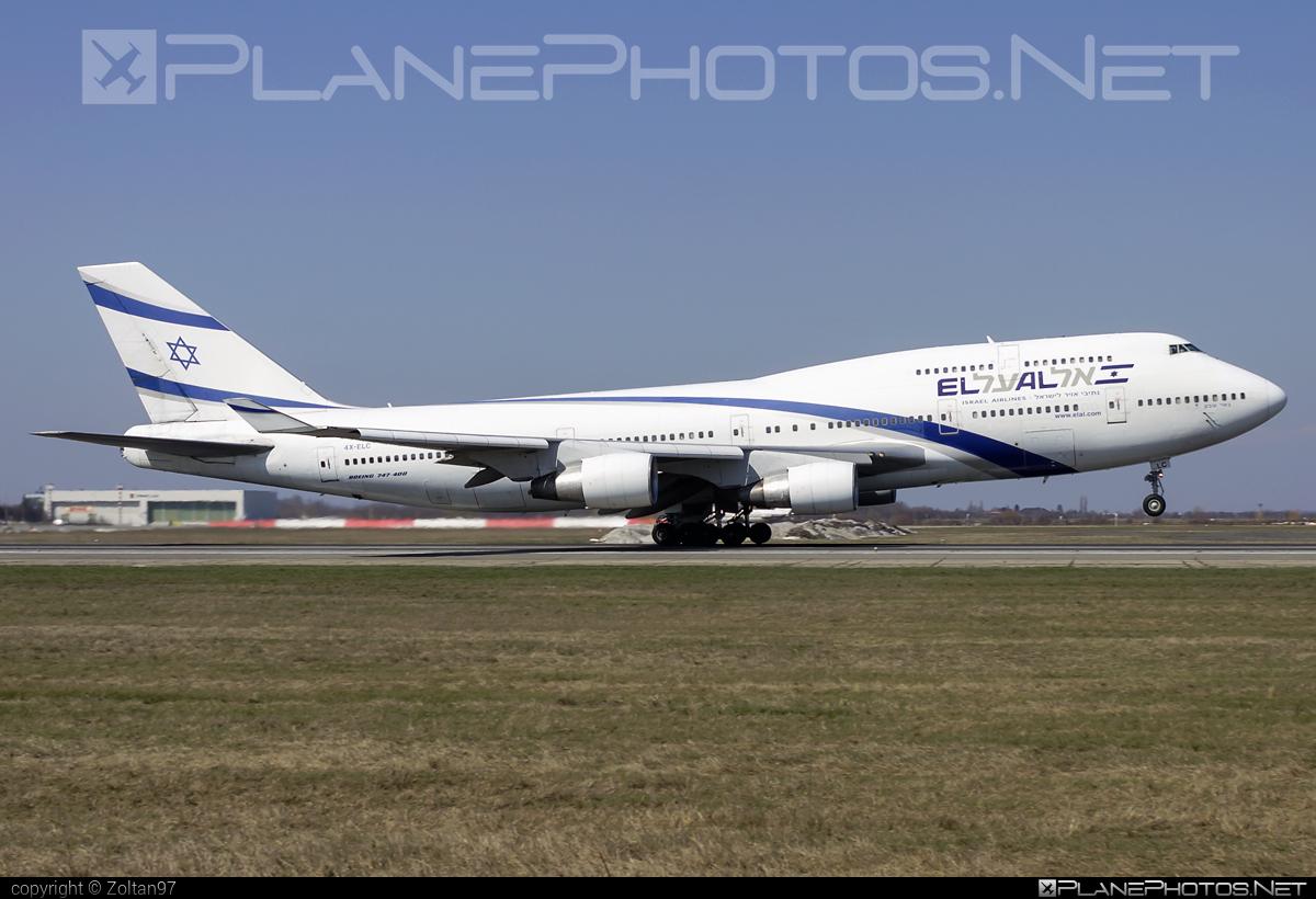Boeing 747-400 - 4X-ELC operated by El Al Israel Airlines #b747 #boeing #boeing747 #elal #elalisraelairlines #israelairlines #jumbo