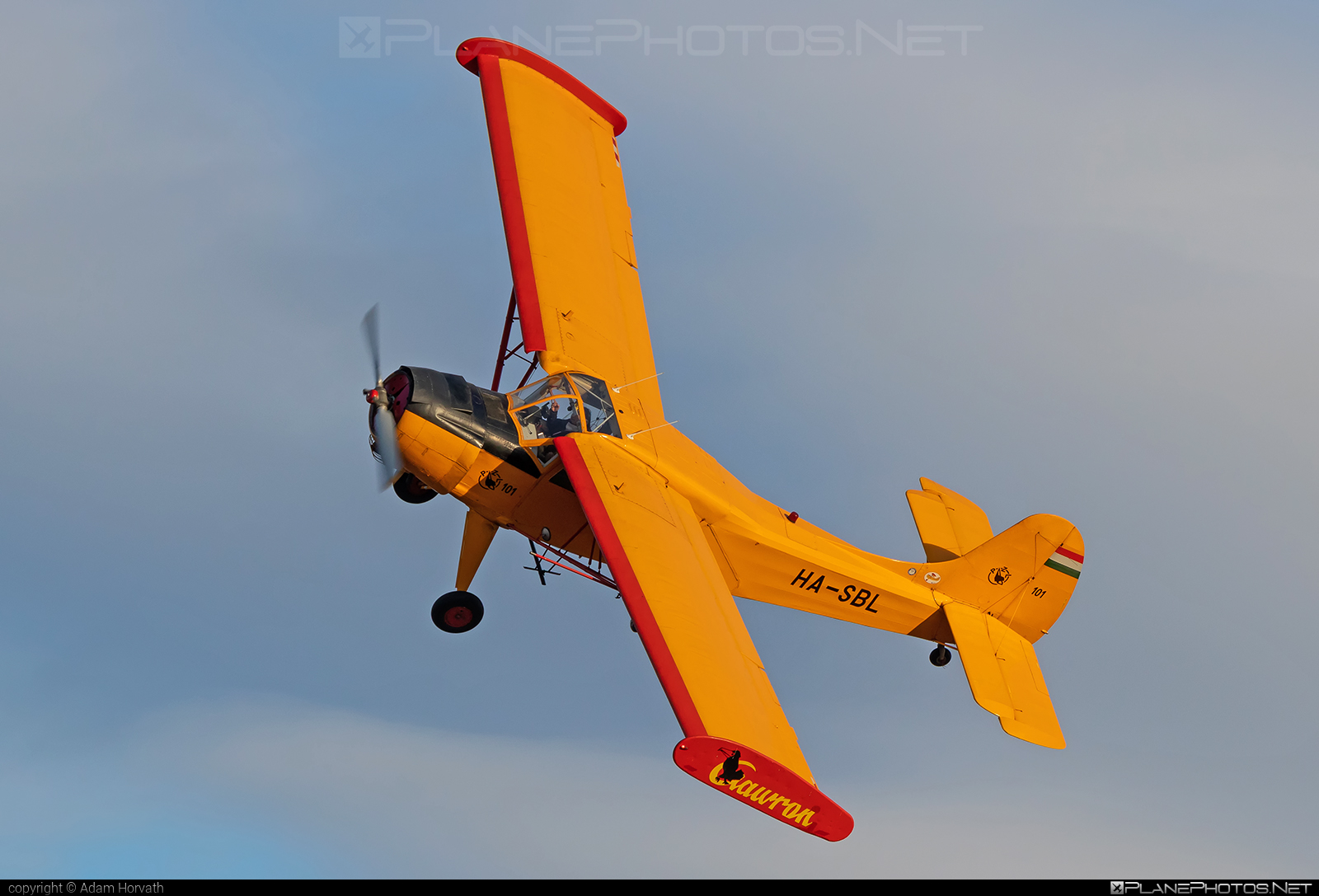 PZL-Okęcie PZL-101A Gawron - HA-SBL operated by Private operator #pzl #pzlokecie