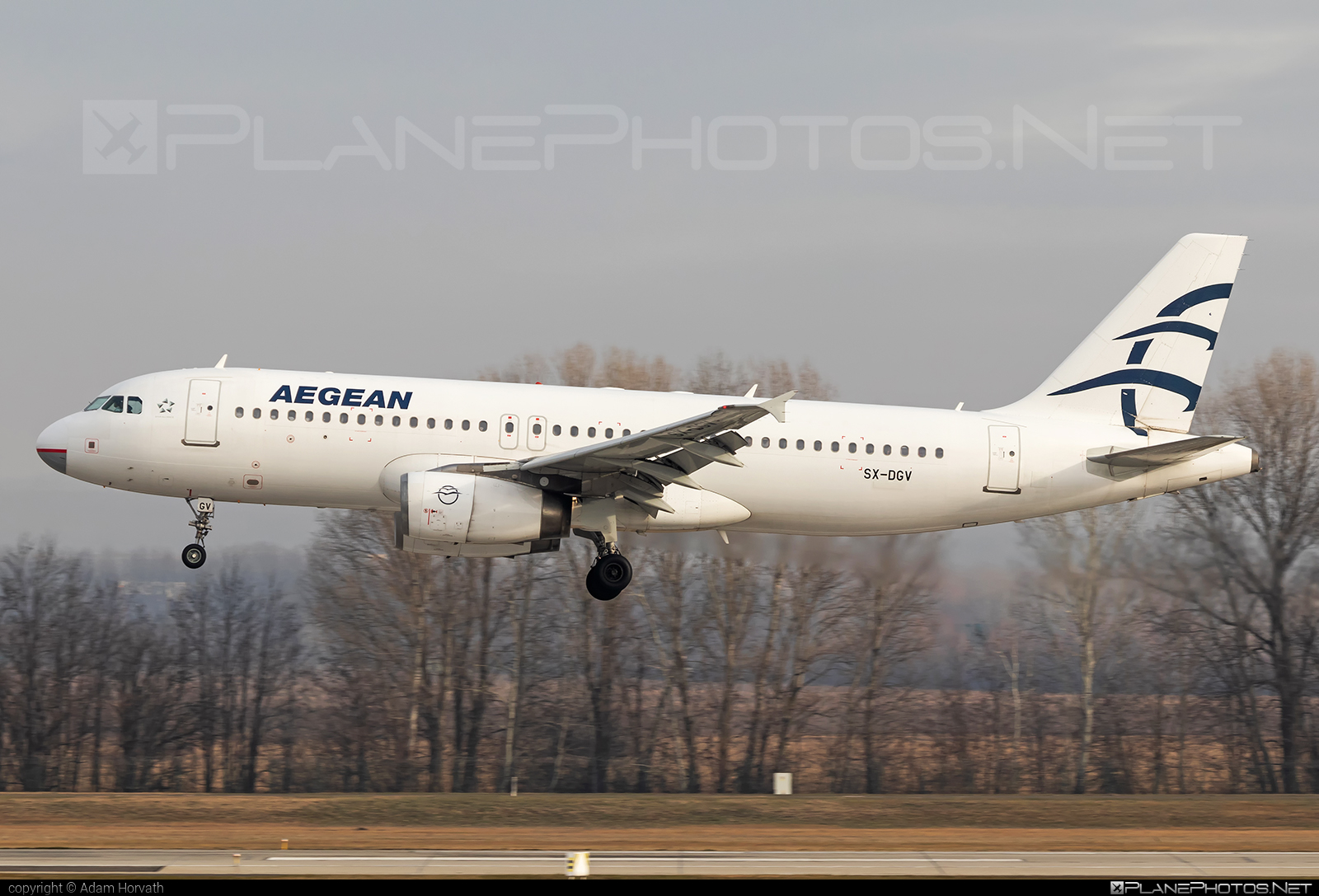 Airbus A320-232 - SX-DGV operated by Aegean Airlines #a320 #a320family #airbus #airbus320