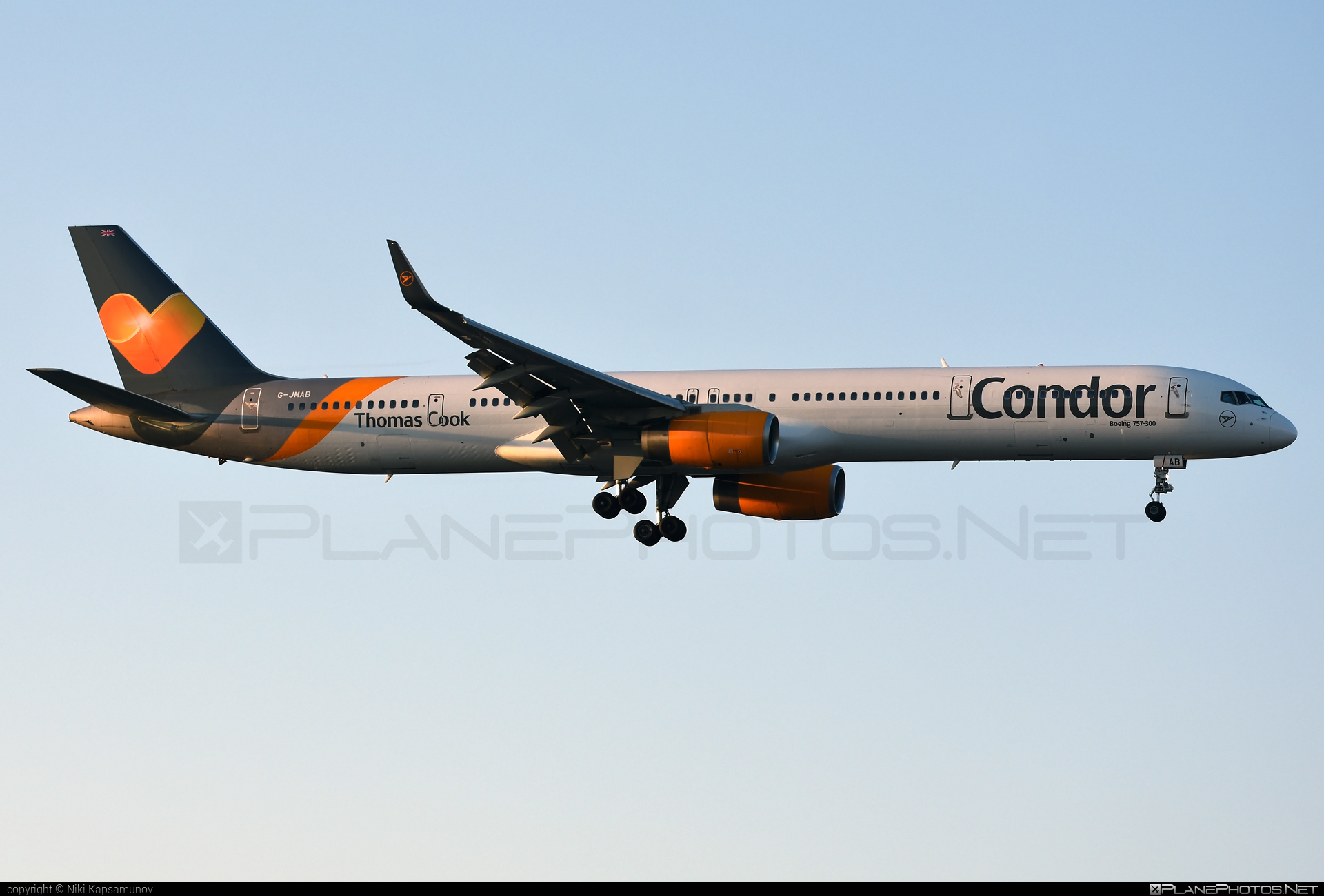 Thomas Cook Airlines Boeing 757-300 - G-JMAB #b757 #boeing #boeing757