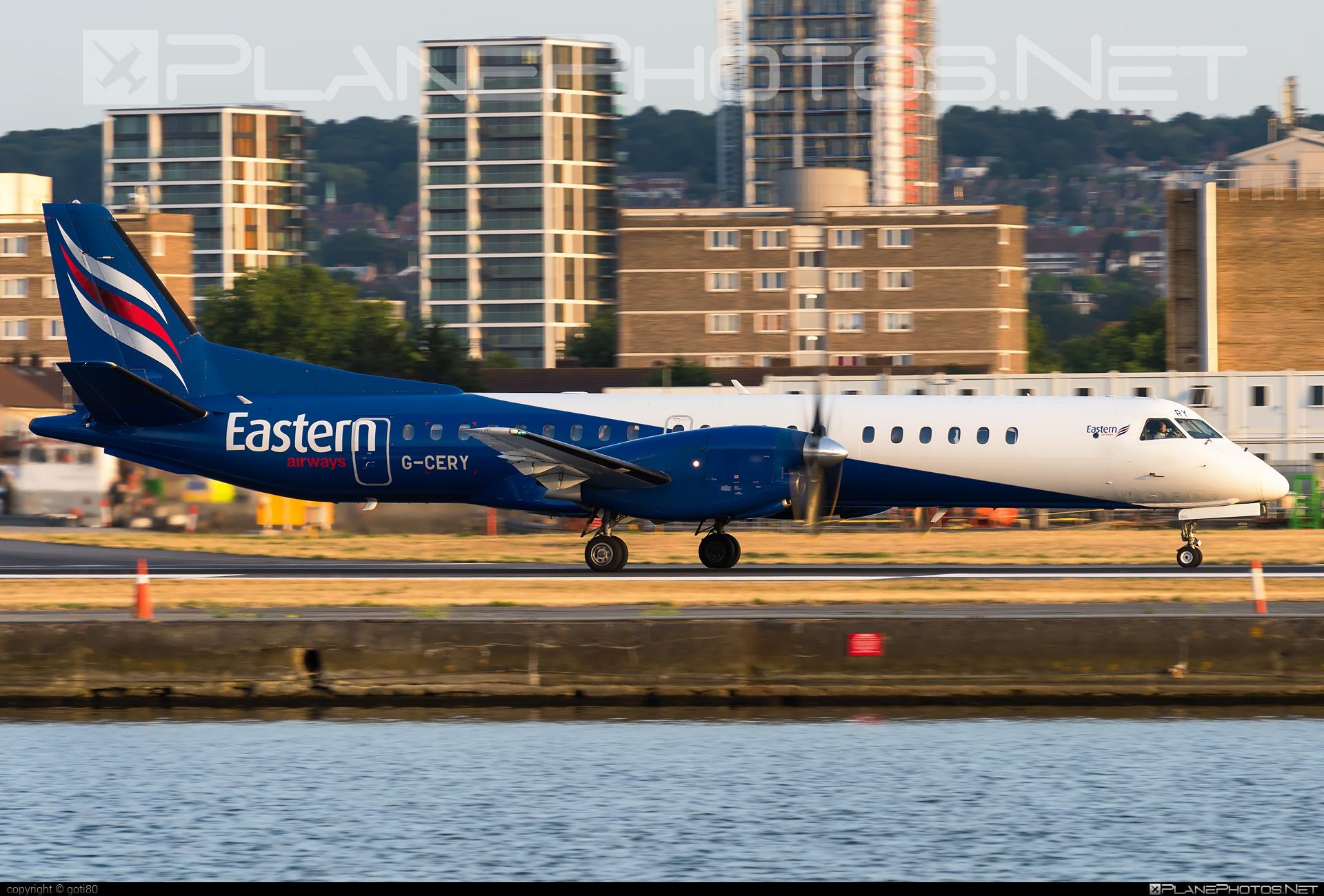Eastern Airways Saab 2000 - G-CERY #saab