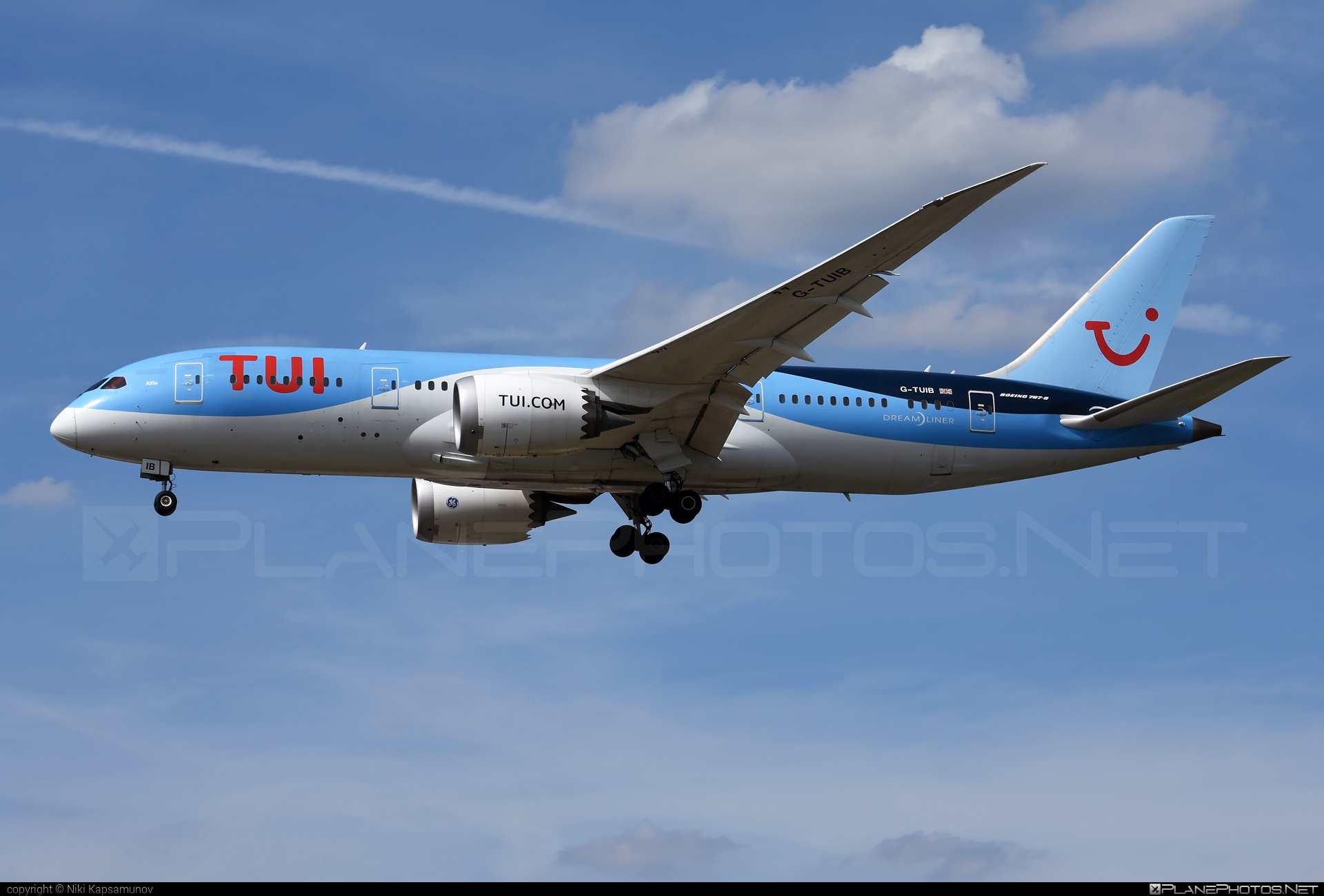 TUIfly Boeing 787-8 Dreamliner - G-TUIB #b787 #boeing #boeing787 #dreamliner #tui #tuifly
