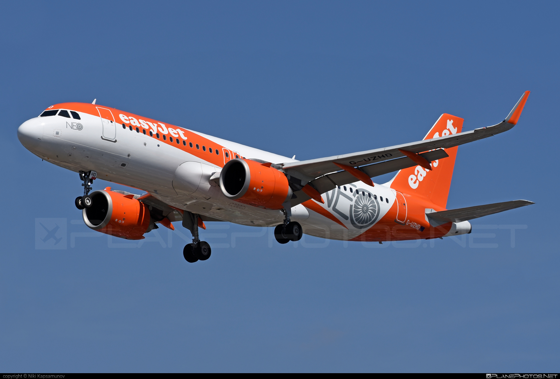 Airbus A320-251N - G-UZHD operated by easyJet #a320 #a320family #a320neo #airbus #airbus320 #easyjet
