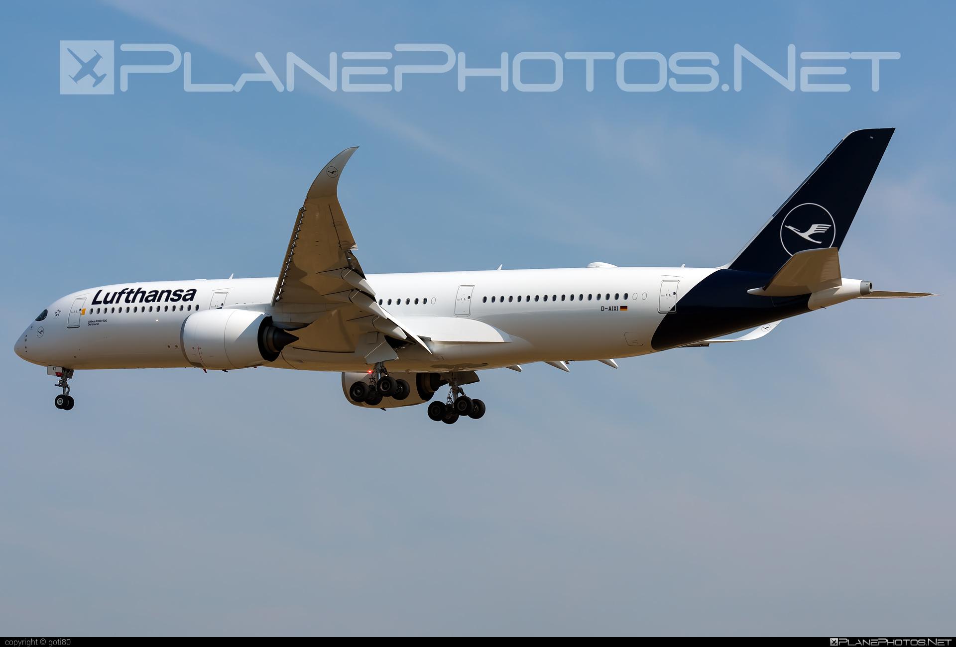 Airbus A350-941 - D-AIXI operated by Lufthansa #a350 #a350family #airbus #airbus350 #lufthansa #xwb