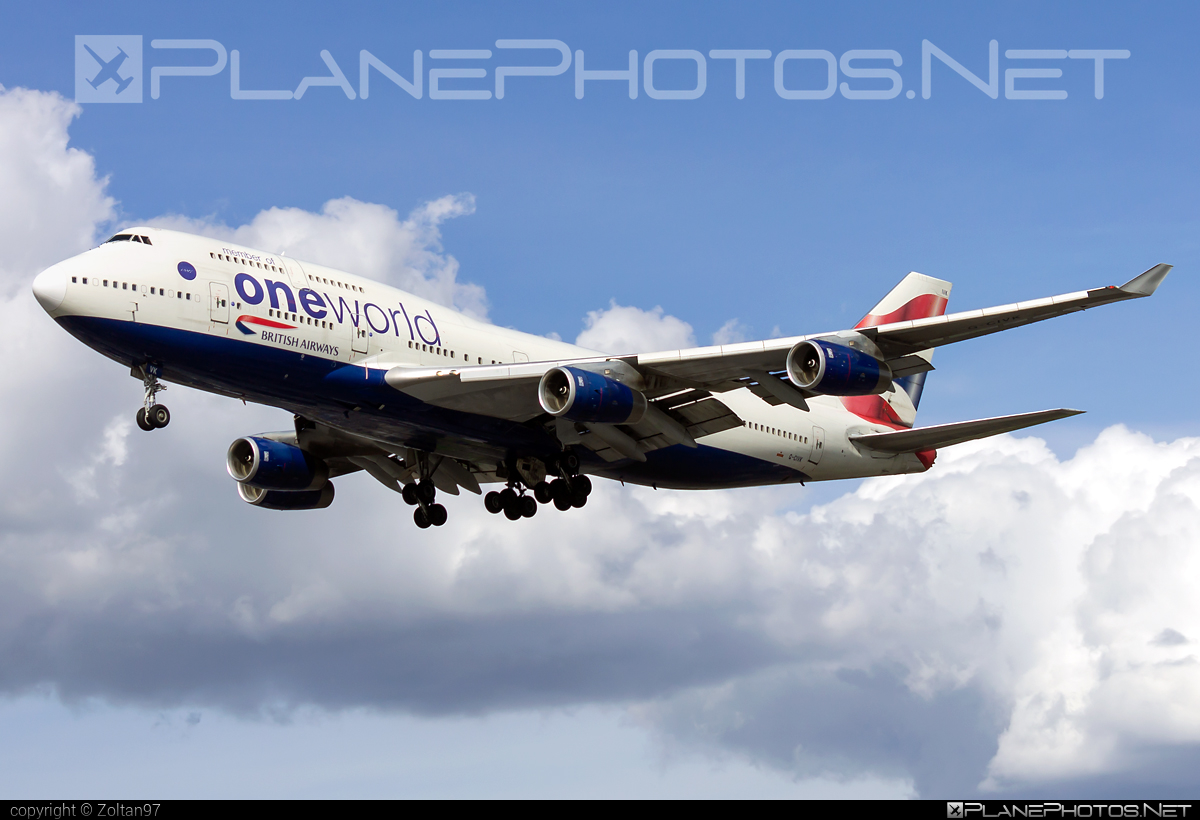 British Airways Boeing 747-400 - G-CIVK #b747 #boeing #boeing747 #britishairways #jumbo #oneworld