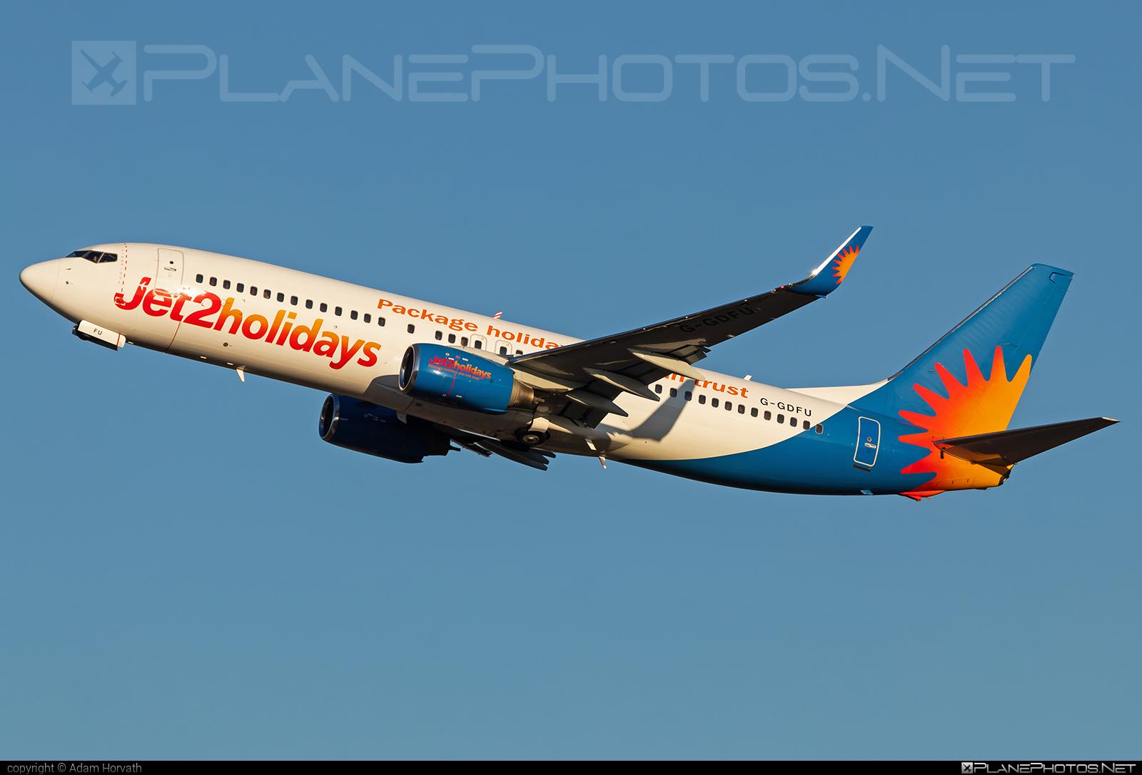 Boeing 737-800 - G-GDFU operated by Jet2 #b737 #b737nextgen #b737ng #boeing #boeing737 #jet2