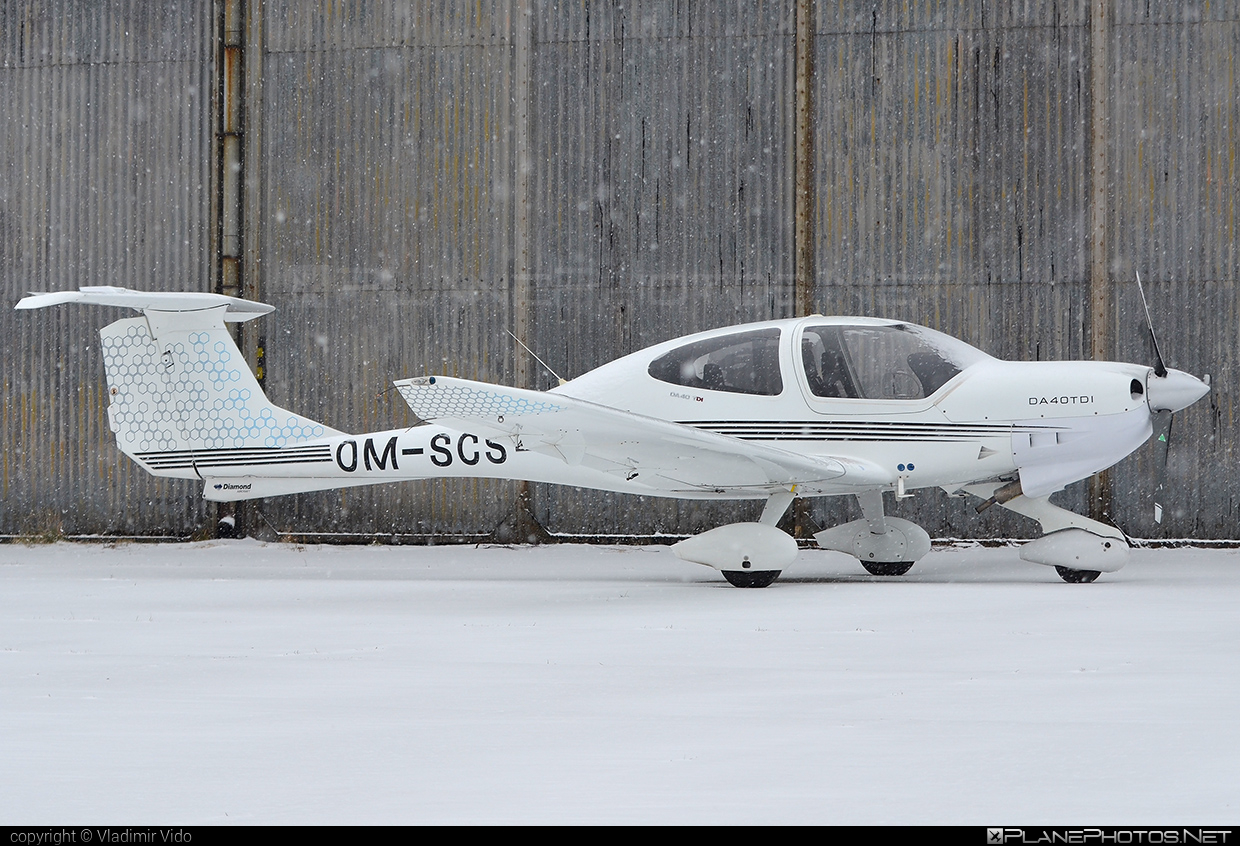 Diamond DA40 TDI Diamond Star - OM-SCS operated by SEAGLE SK.ATO.02 #diamond